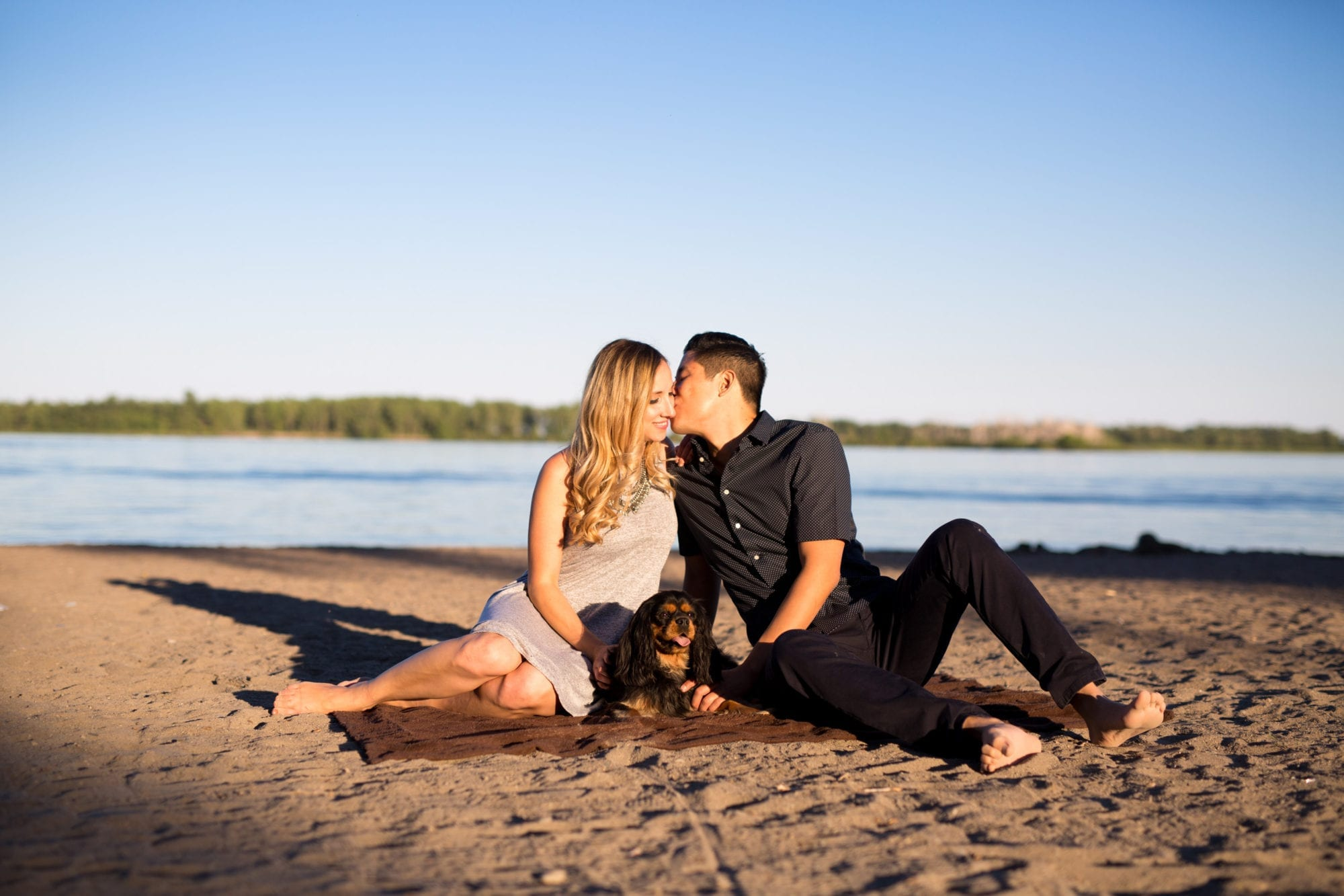 Beach Sunset Toronto Engagement Zsuzsi Pal Photography