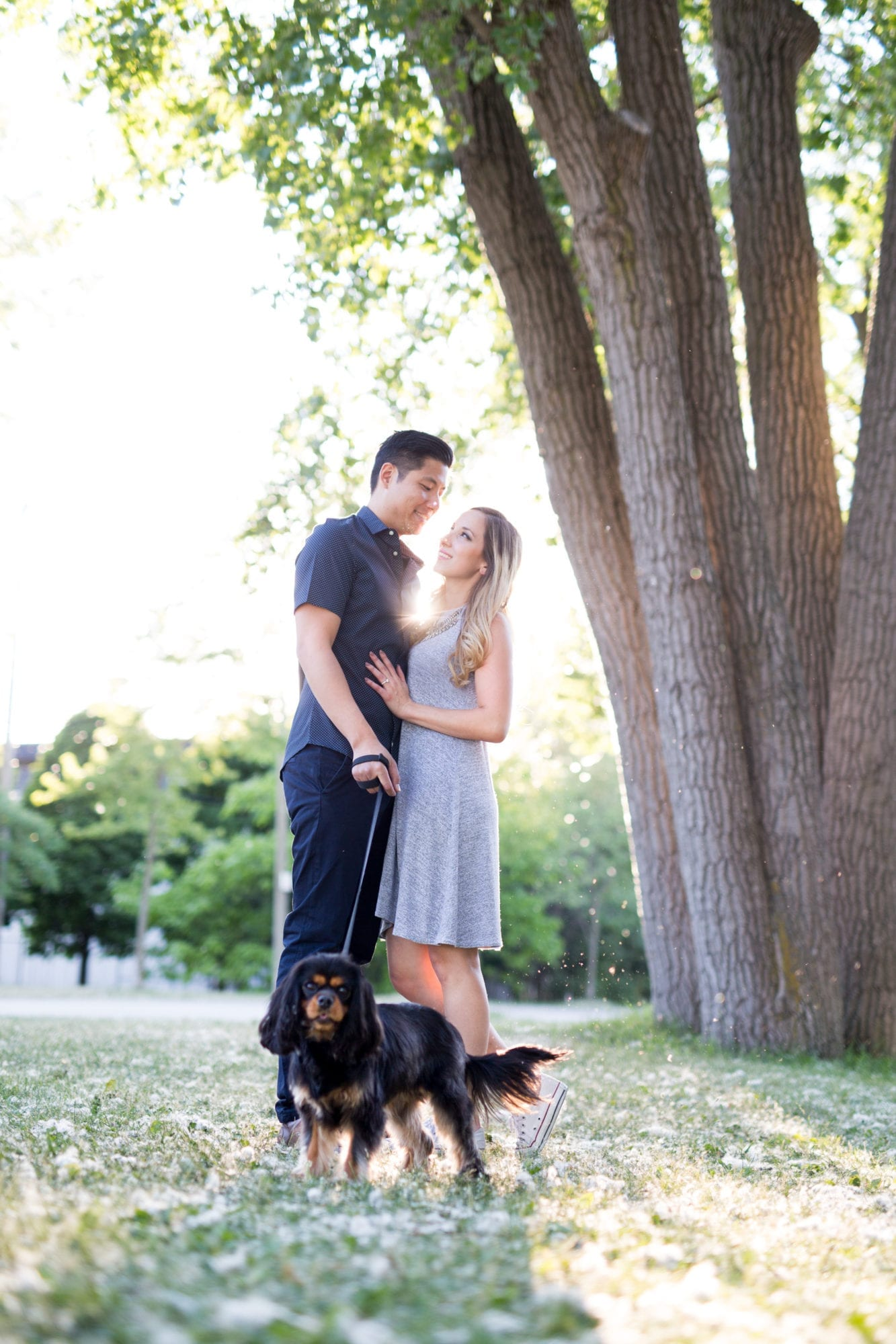Couple Park Toronto Engagement Zsuzsi Pal Photography