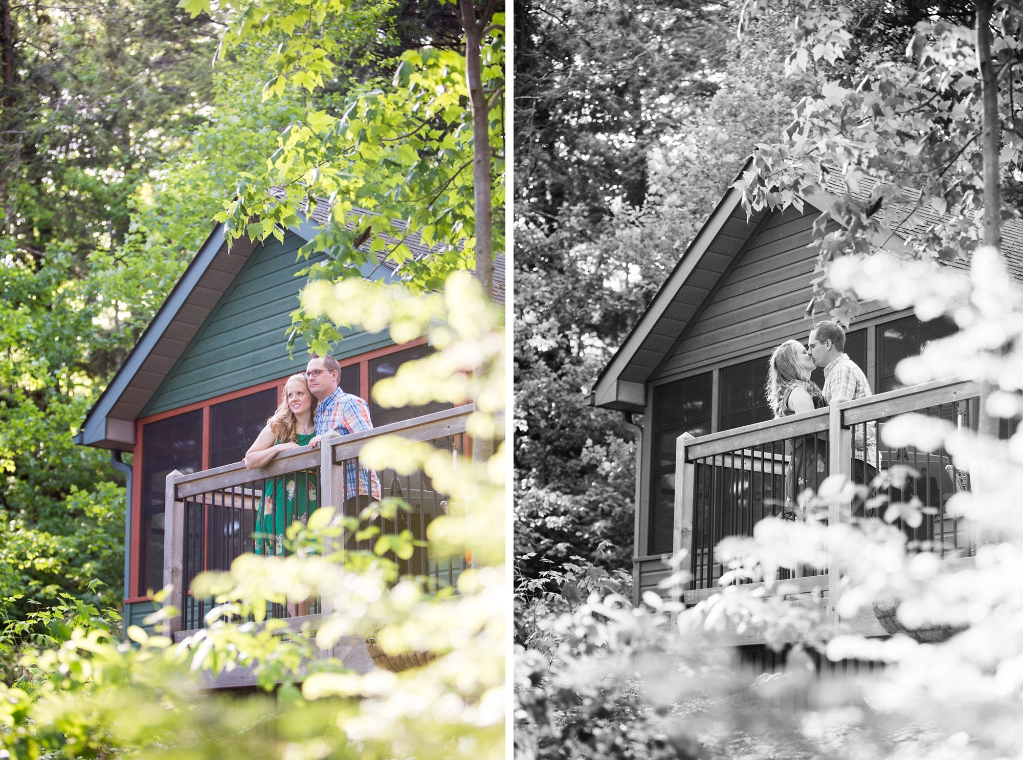 Cottage Engagement Zsuzsi Pal Photography