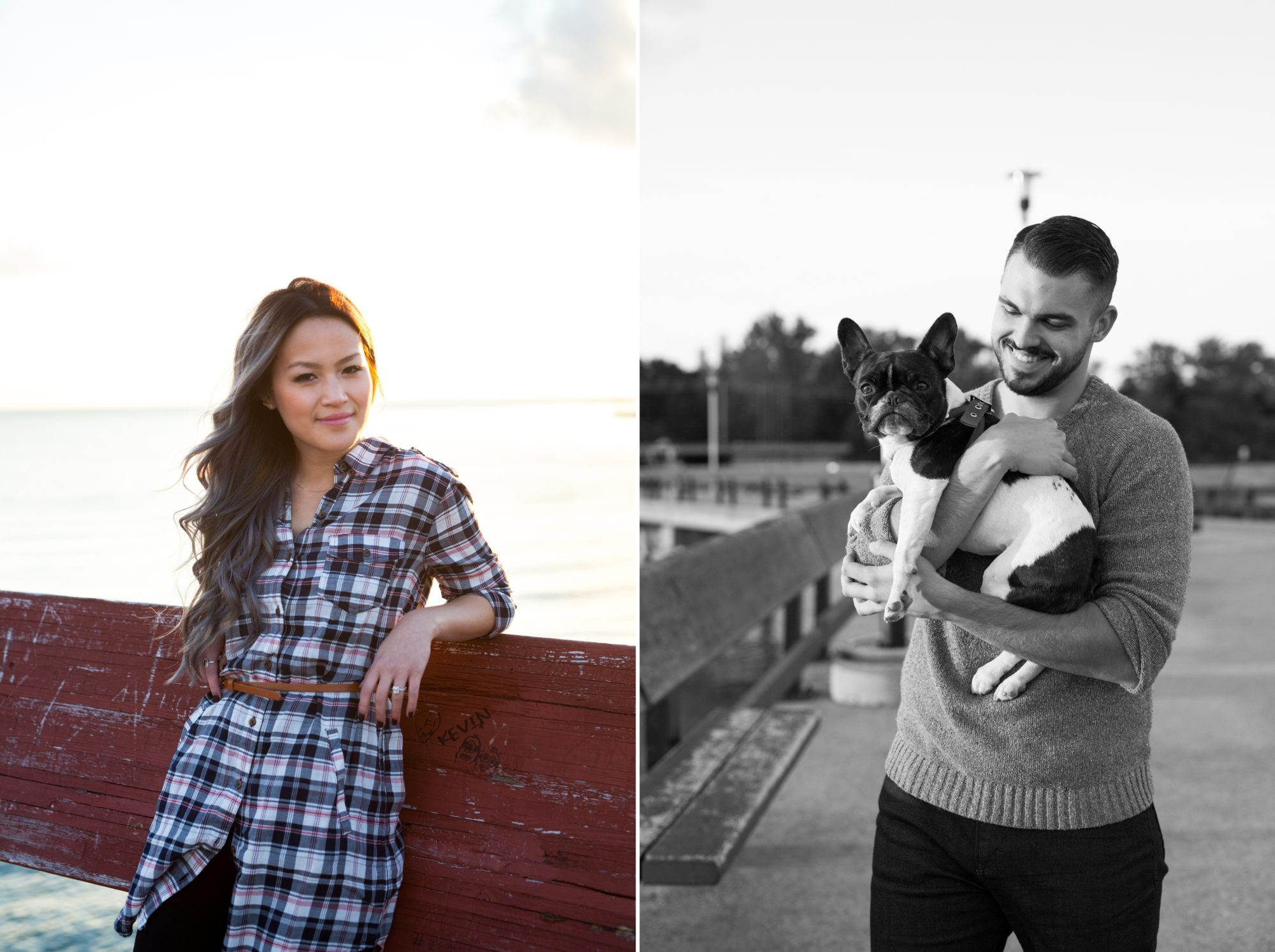Couple Toronto Island Engagement Shoot Zsuzsi Pal Photography