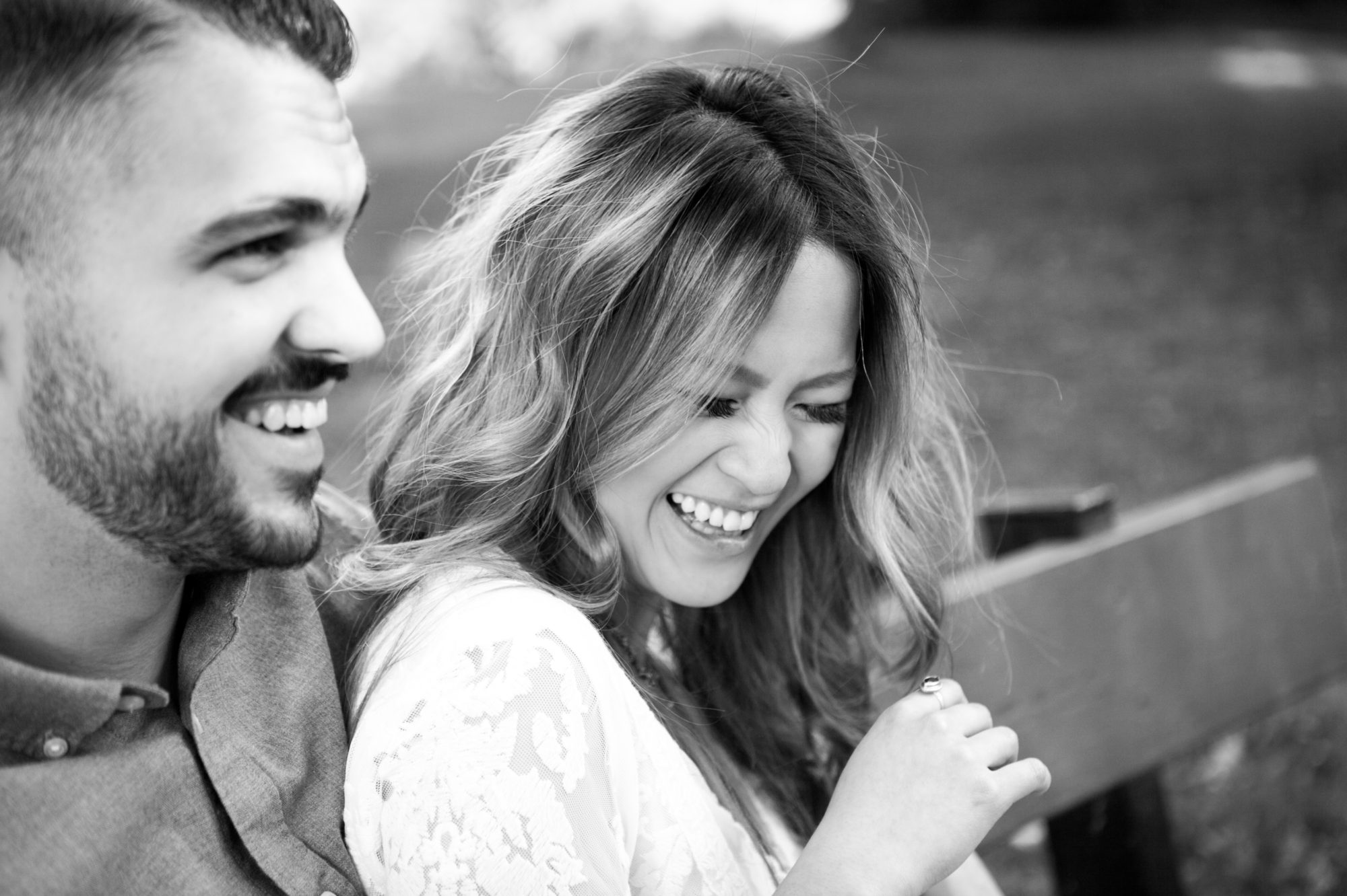 Laughter Toronto Island Engagement Shoot Zsuzsi Pal Photography