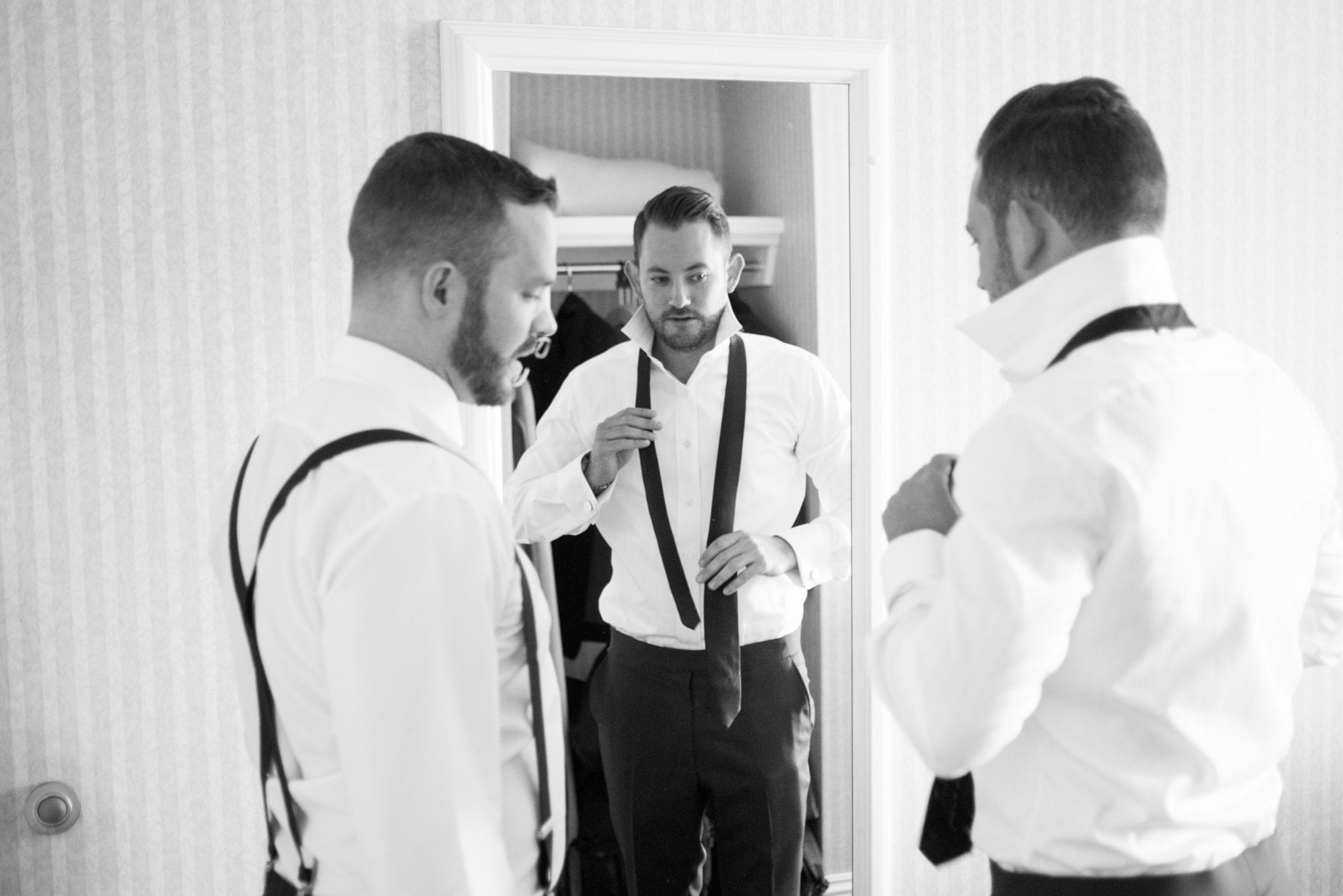 Groom Prep Legends Winery Wedding Zsuzsi Pal Photography