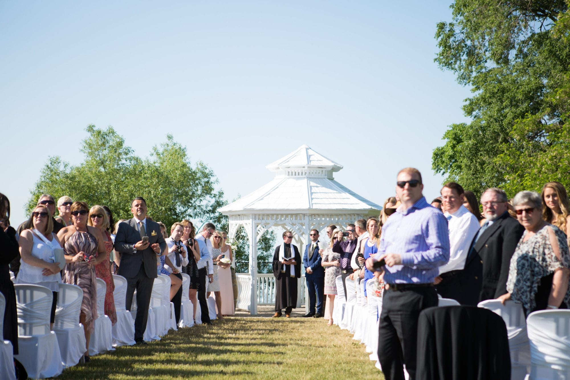 Ceremony Legends Winery Wedding Zsuzsi Pal Photography