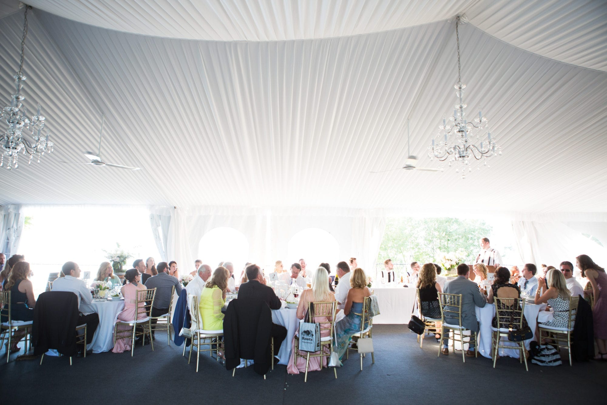 Tent Reception Legends Winery Wedding Zsuzsi Pal Photography