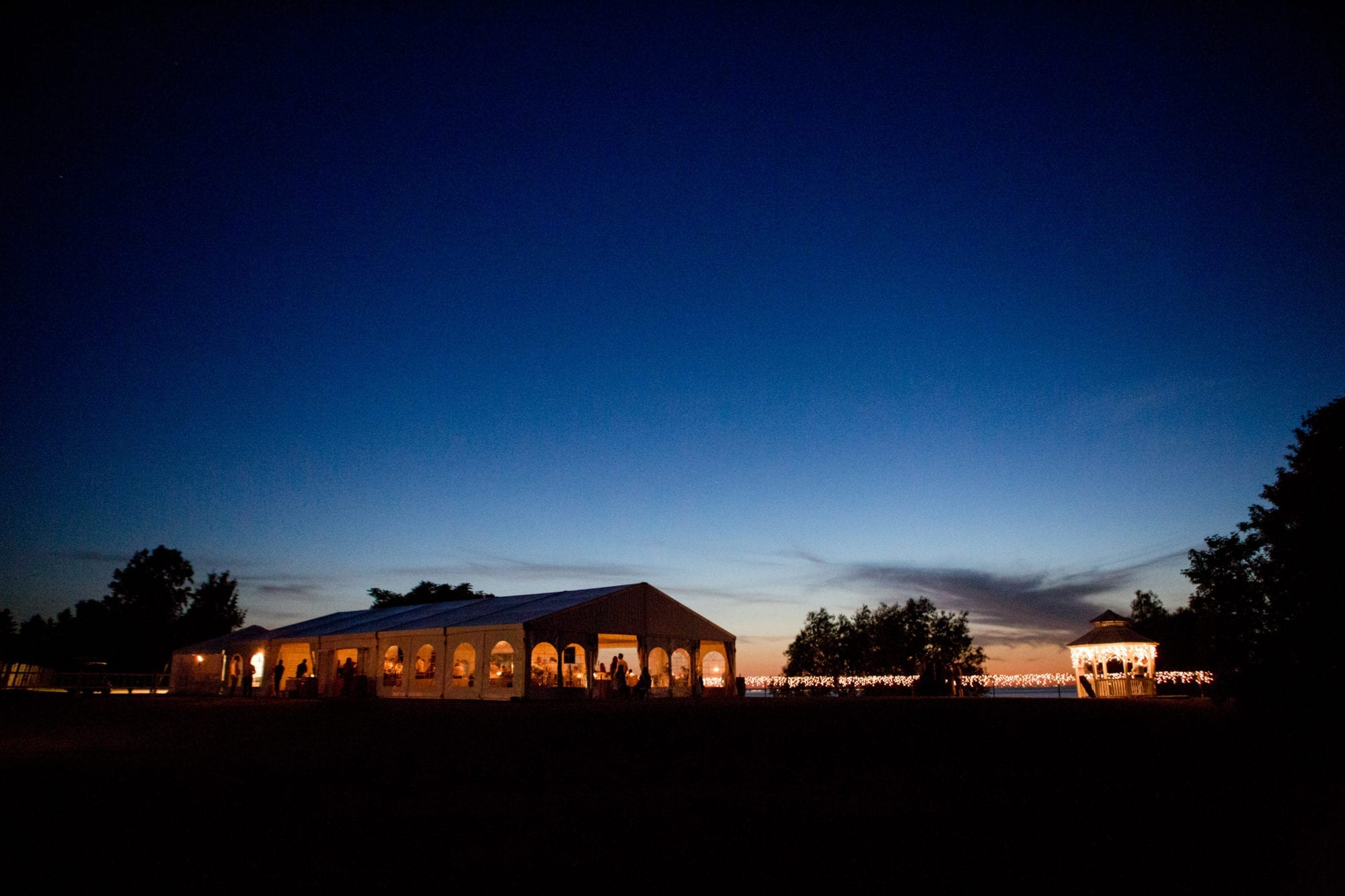 Evening Night Reception Tent Legends Winery Wedding Zsuzsi Pal Photography