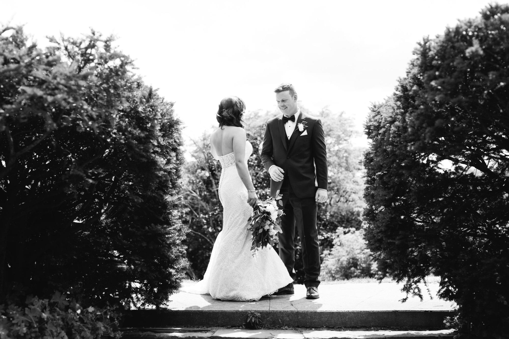 High Park Black and White Zsuzsi Pal Photography Wedding Toronto