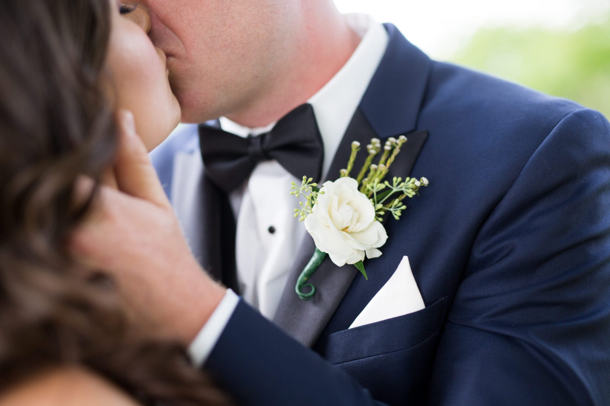 Kiss Boutonniere Suit Zsuzsi Pal Photography Toronto Wedding