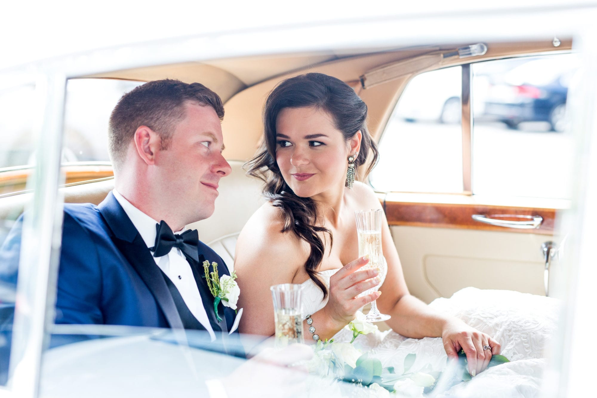 Bentley Limo Champagne Zsuzsi Pal Photography Toronto Wedding