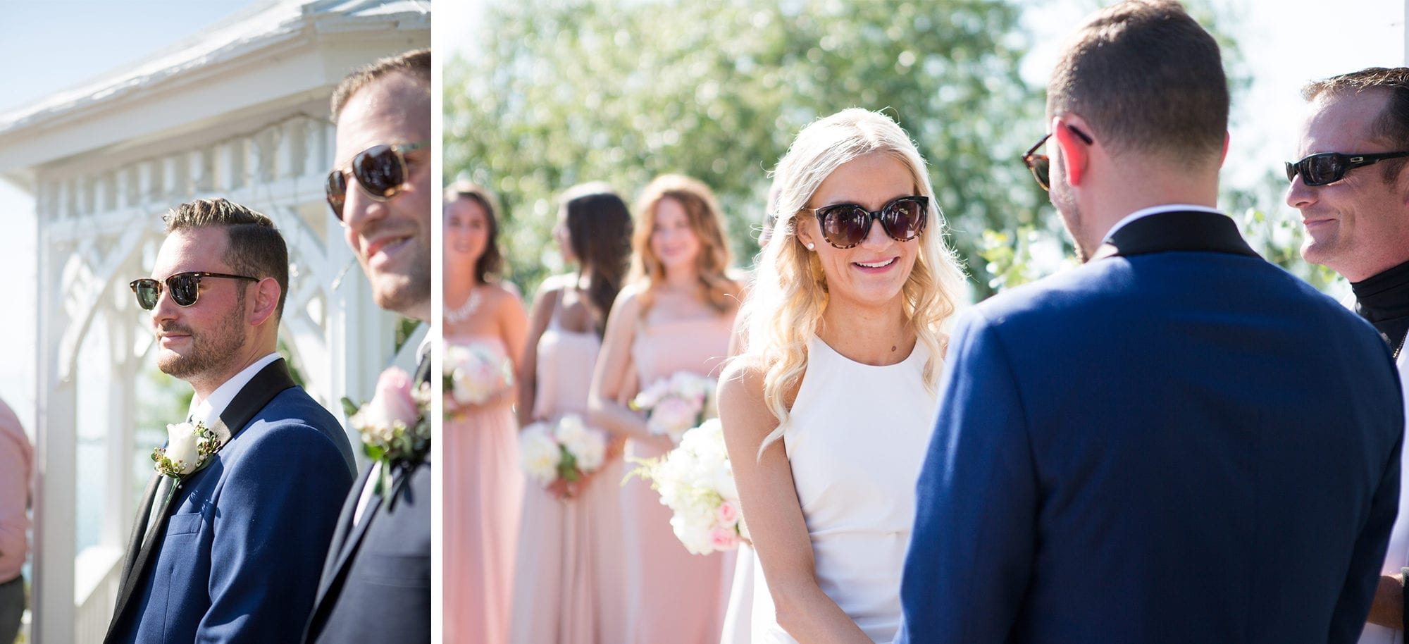 Bride Groom Ceremony Legends Winery Wedding Zsuzsi Pal Photography