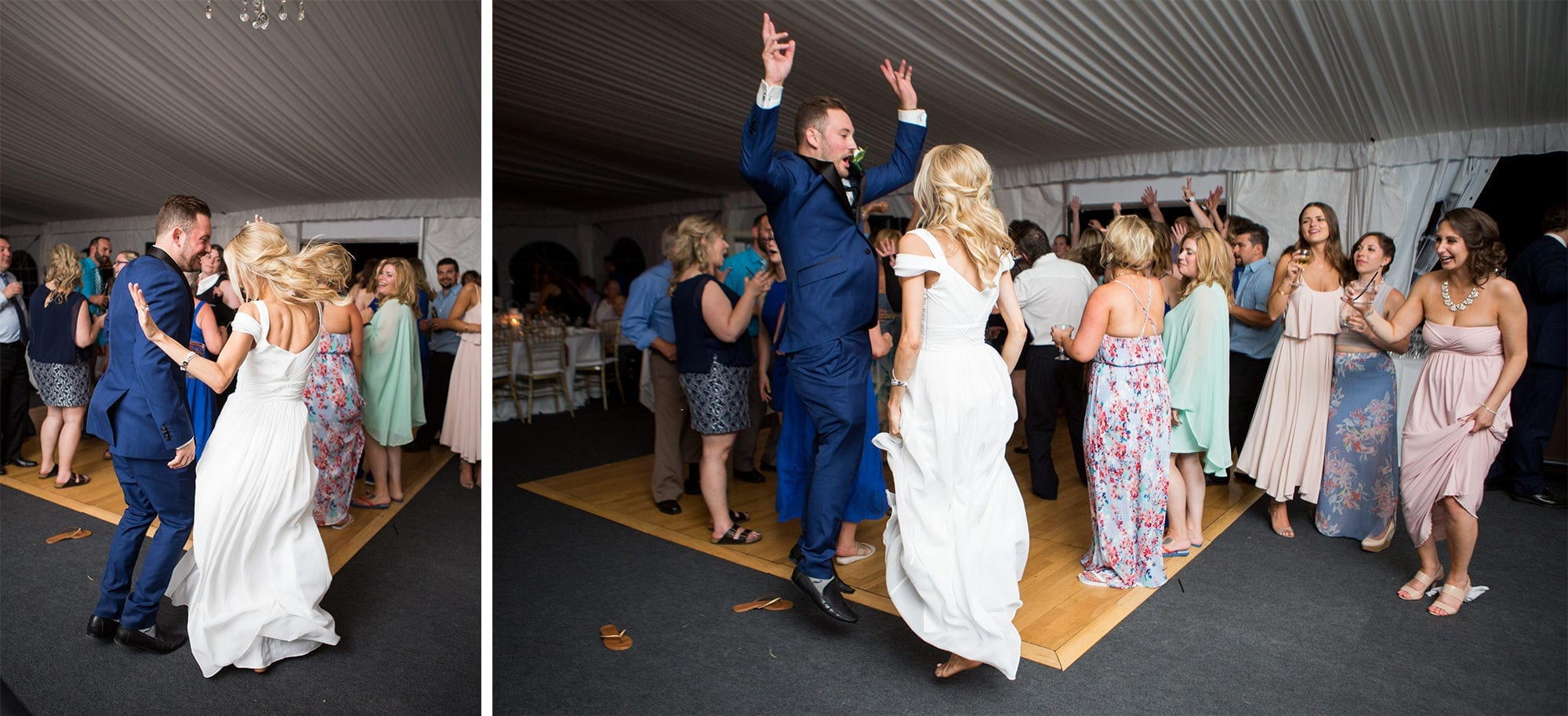 Reception Dance Legends Winery Wedding Zsuzsi Pal Photography