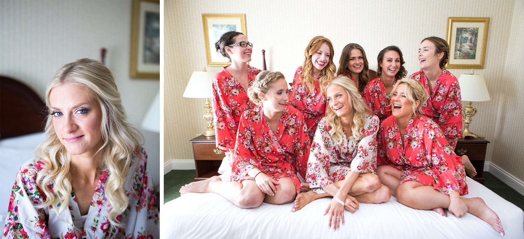Bridesmaids Robes Legends Winery Wedding Zsuzsi Pal Photography
