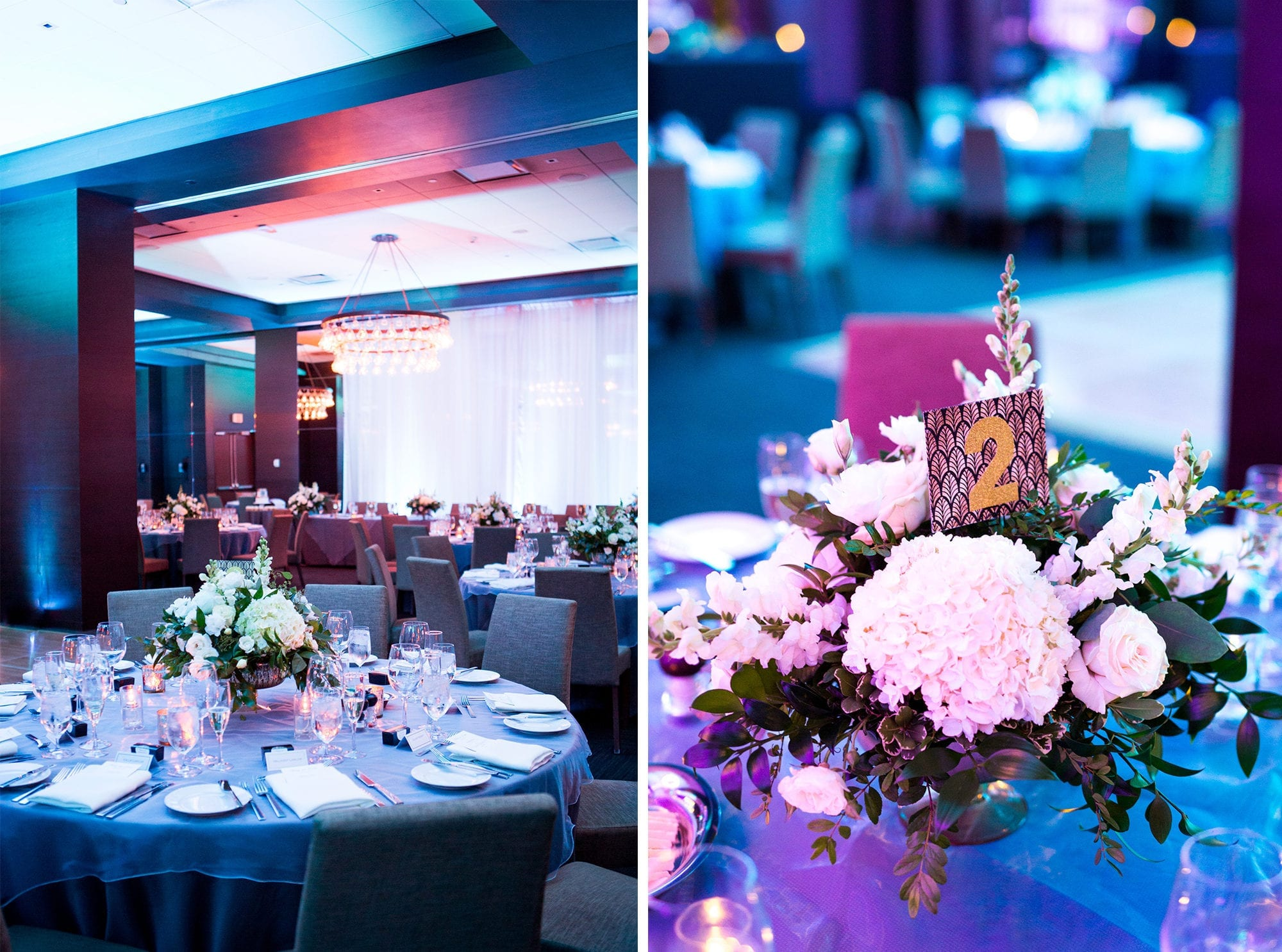 Reception Decor Thompson Hotel Zsuzsi Pal Photography Toronto Wedding