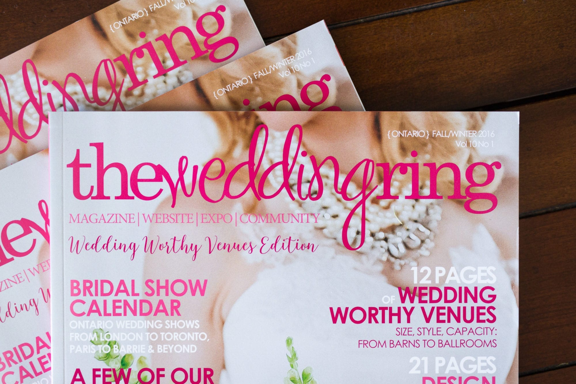 The Wedding Ring Magazine - Erika & Mike\'s Wedding - Toronto Wedding ...
