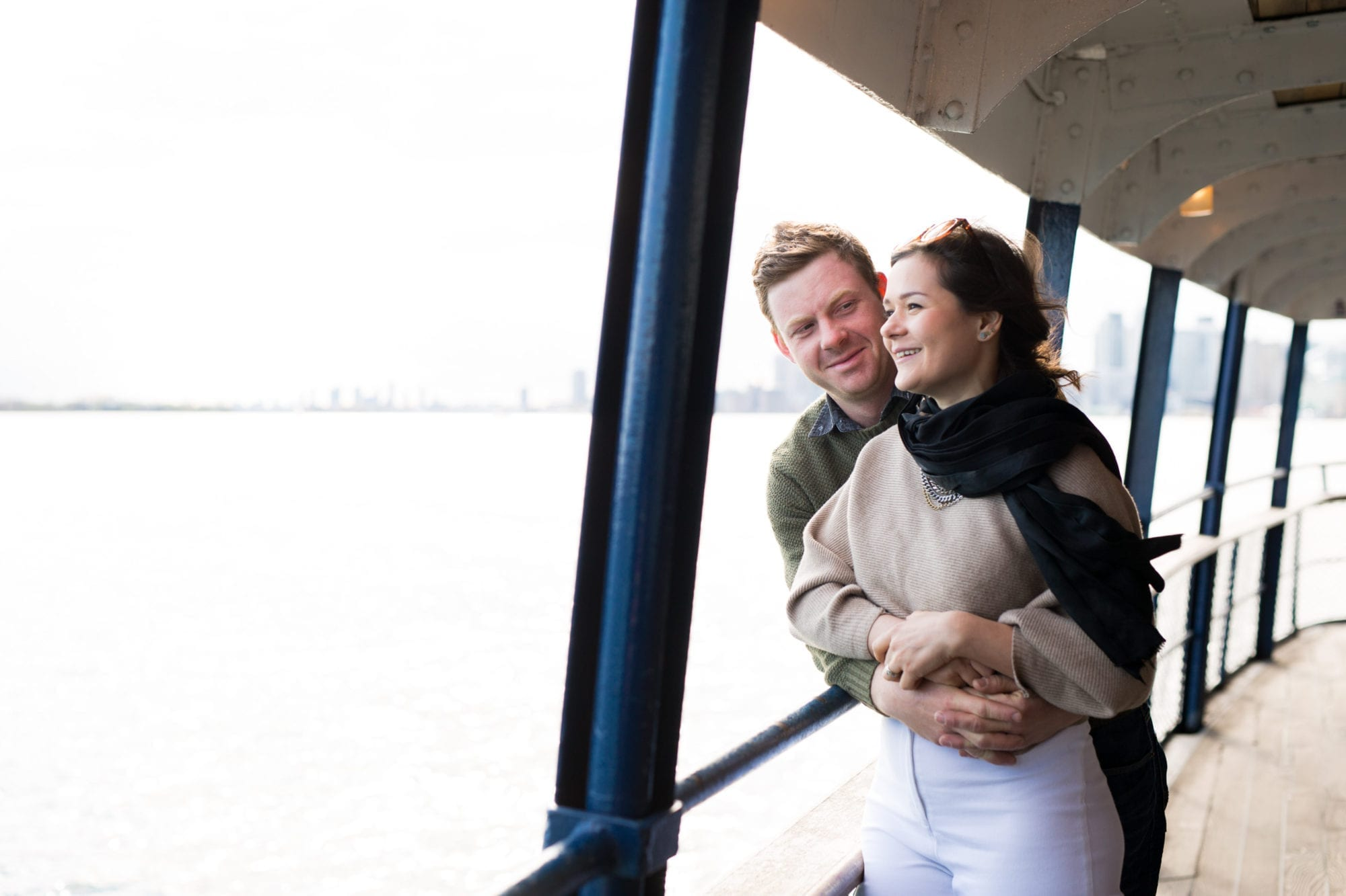 Toronto Island Engagement Zsuzsi Pal Photography Ferry