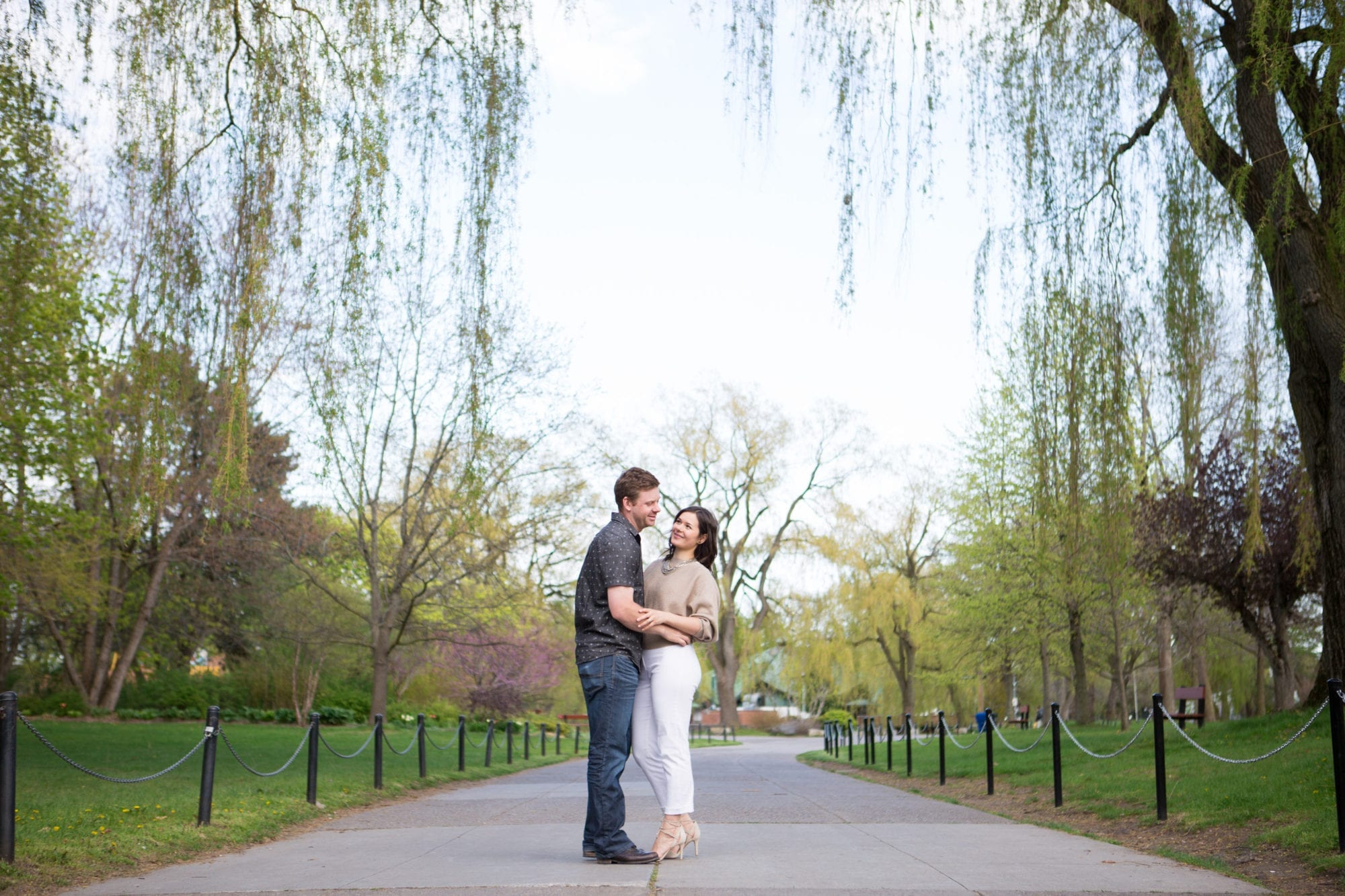 Willow Toronto Island Engagement Zsuzsi Pal Photography