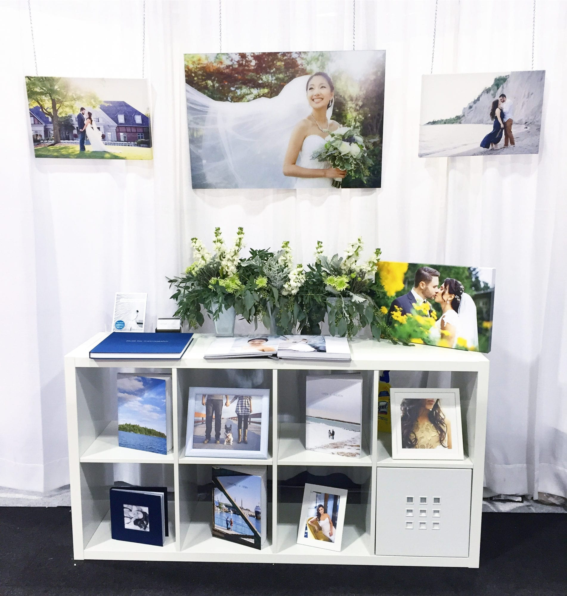 Wall Canada's Bridal Show Booth Zsuzsi Pal Photography