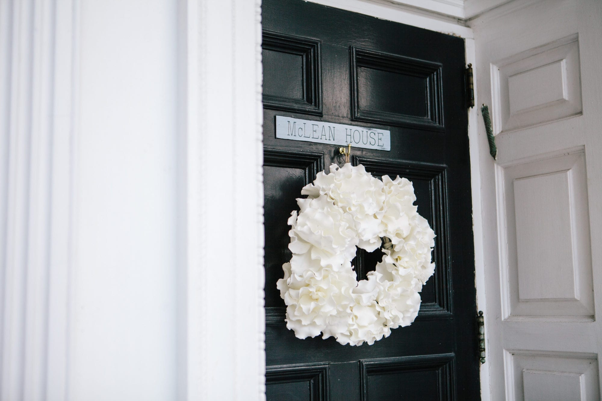 Wreath Zsuzsi Pal Photography Wedding Estates of Sunnybrook