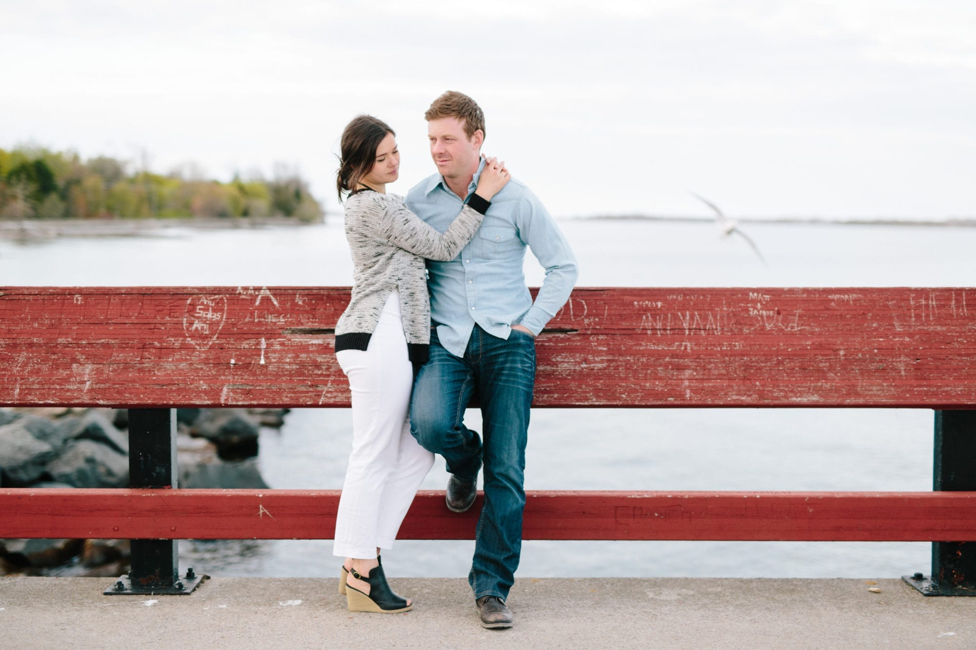 Pier Toronto Island Engagement Zsuzsi Pal Photography