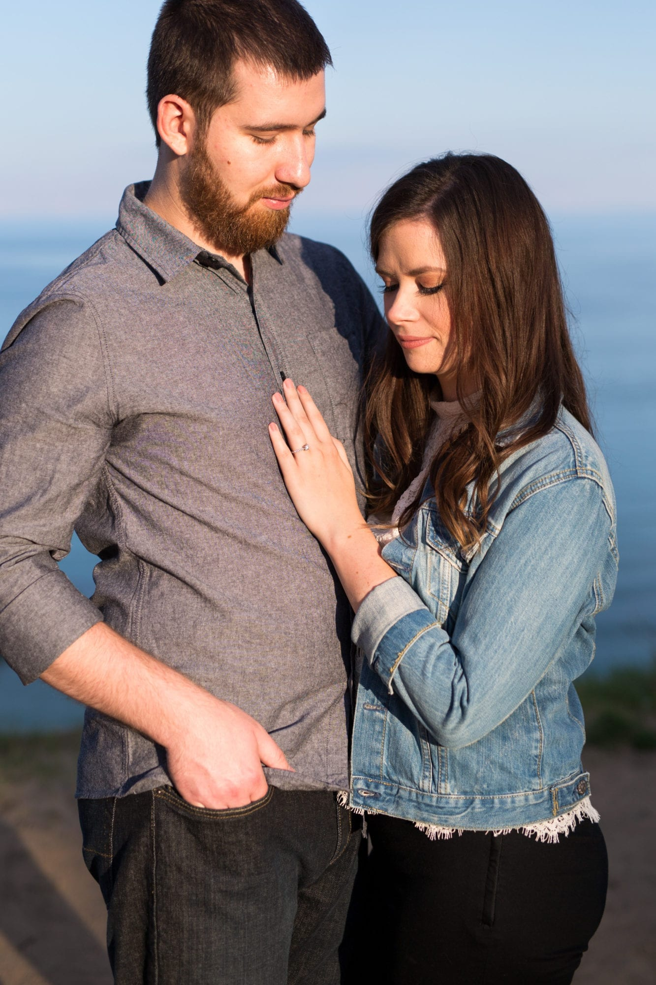 Couple Scarborough Bluffs Engagement Zsuzsi Pal Photography