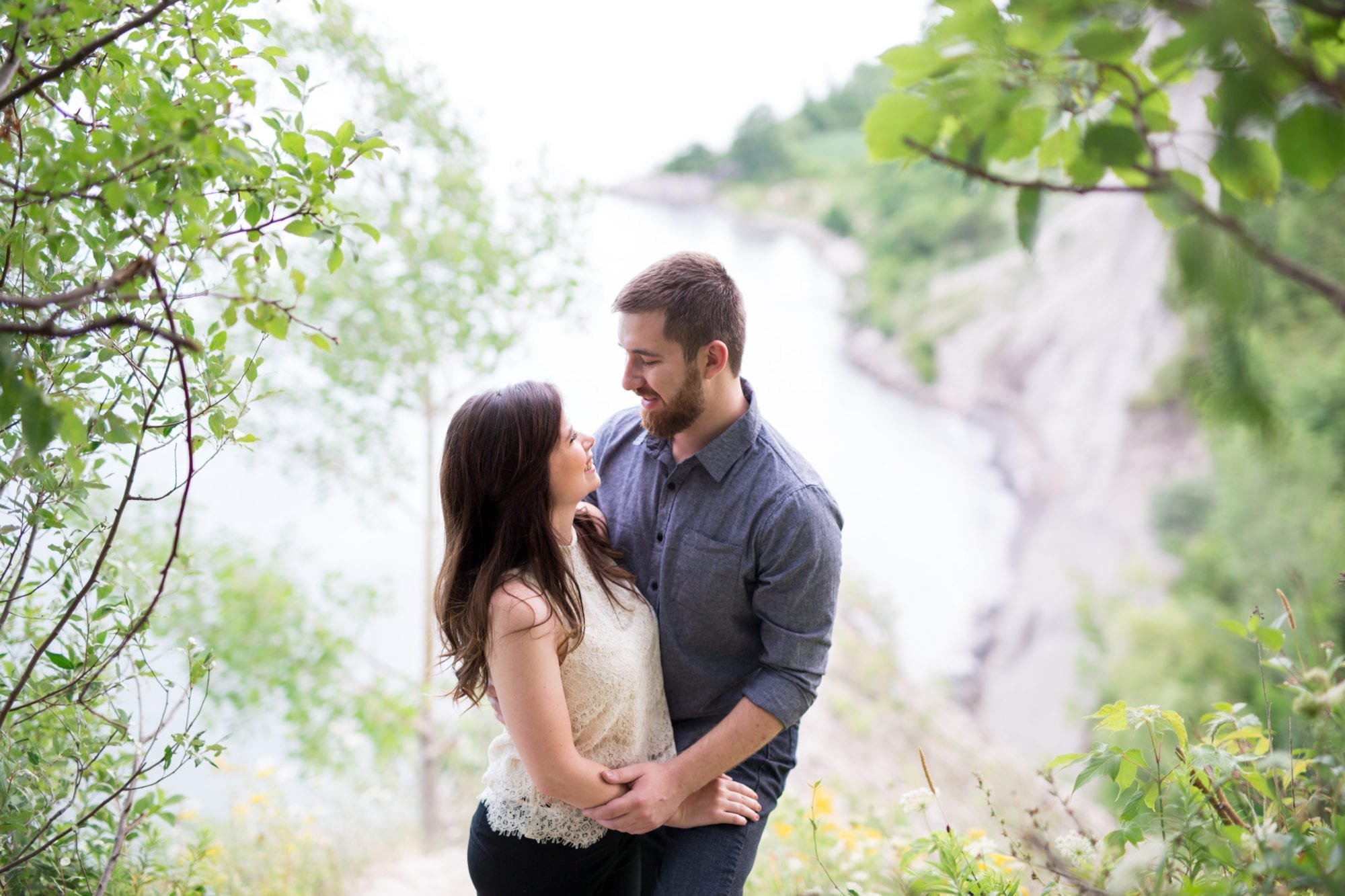 Bluffs Scarborough Bluffs Engagement Zsuzsi Pal Photography