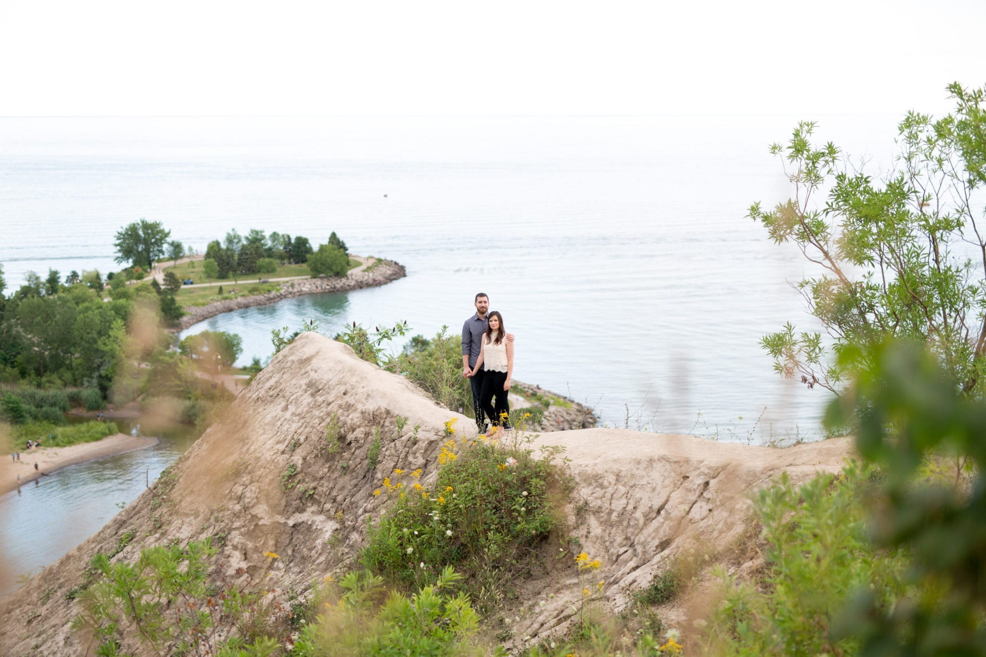 Cliff Scarborough Bluffs Engagement Zsuzsi Pal Photography