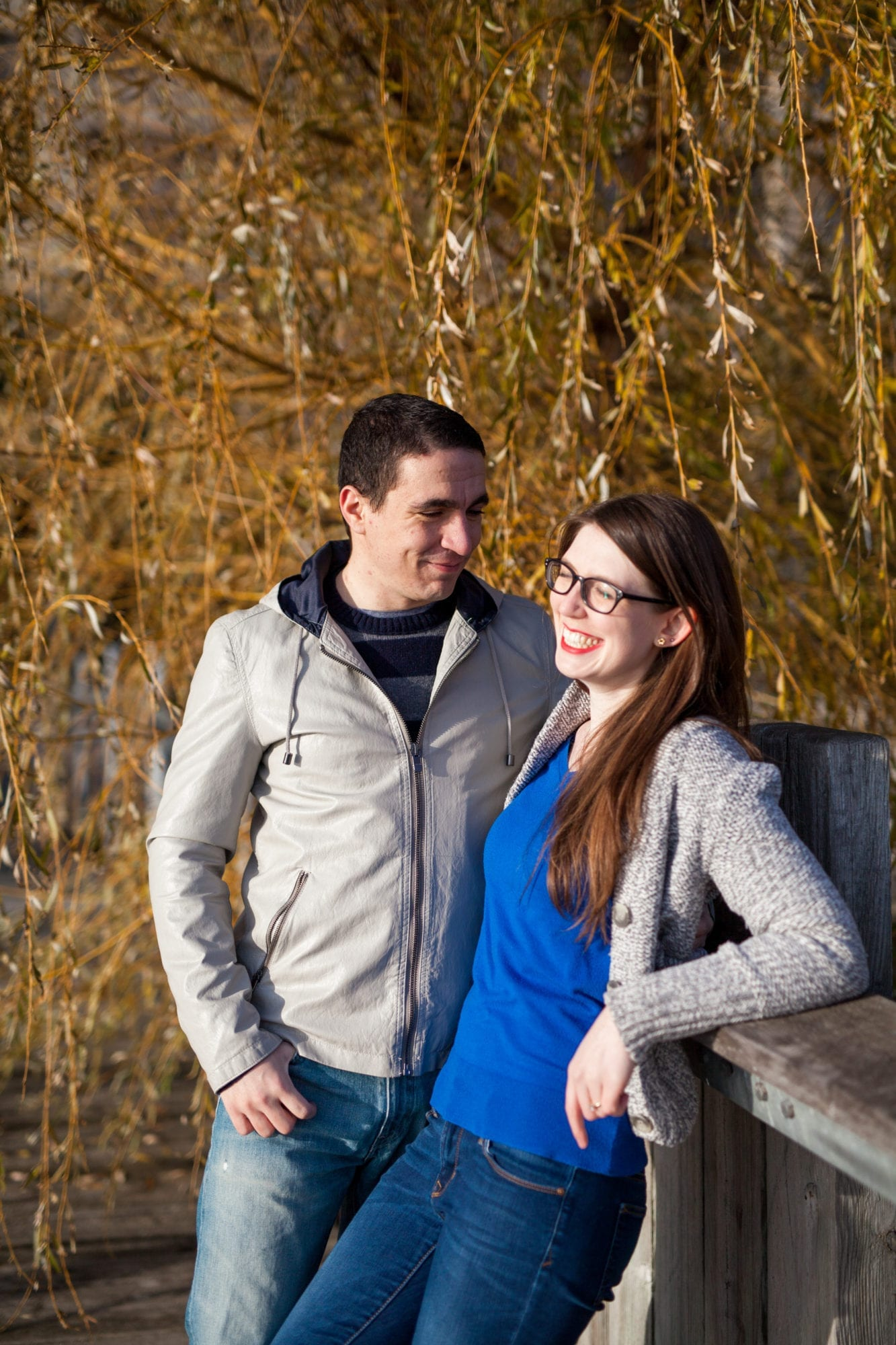 Fall Leaves Engagement Zsuzsi Pal Photography