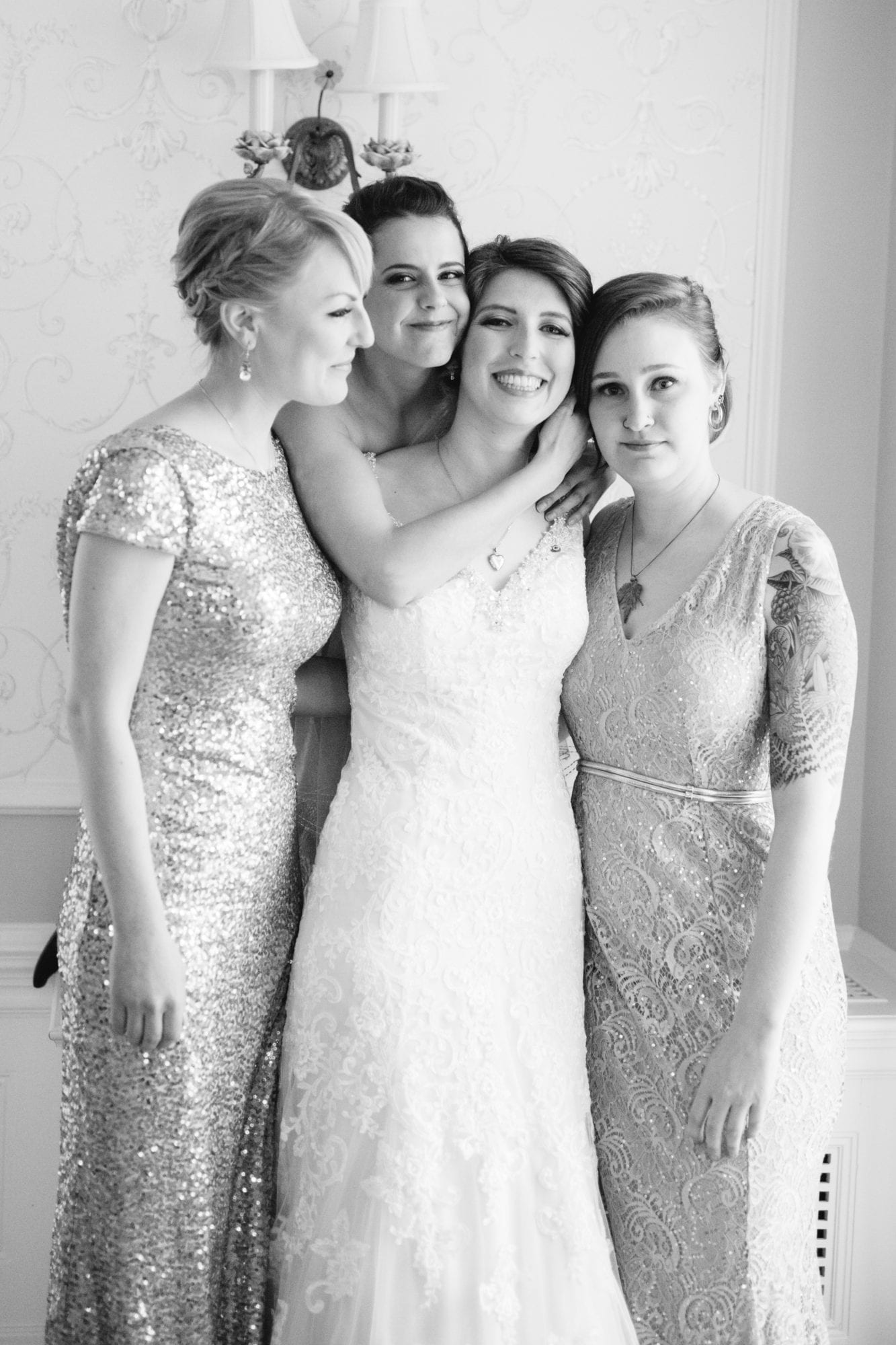Bridesmaids Heintzman House Wedding Zsuzsi Pal Photography