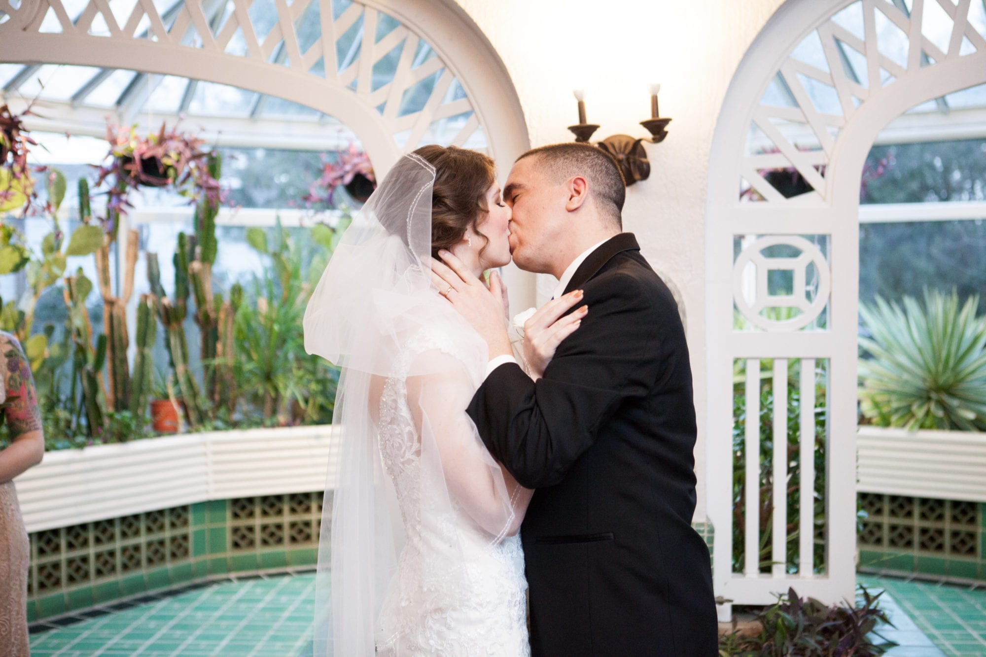 Ceremny Kiss Heintzman House Wedding Zsuzsi Pal Photography