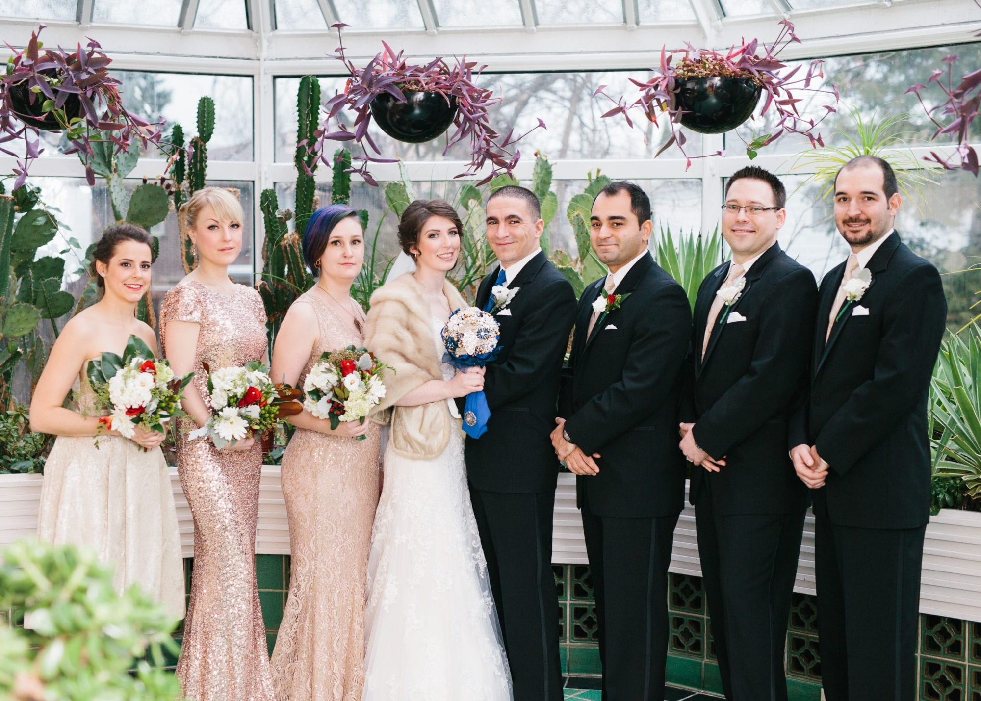 Bridal Party Heintzman House Wedding Zsuzsi Pal Photography