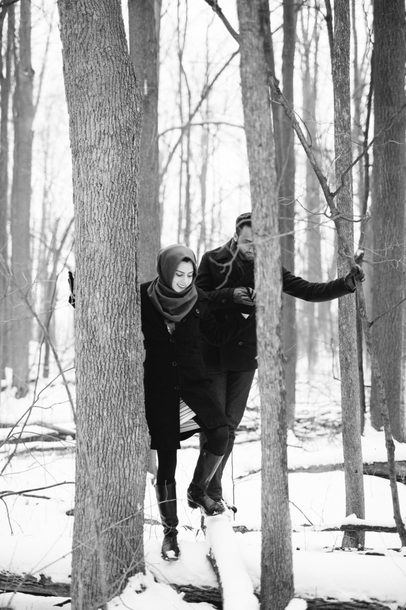 Forest Engagement Milton Scotdale Farm Zsuzsi Pal Photography