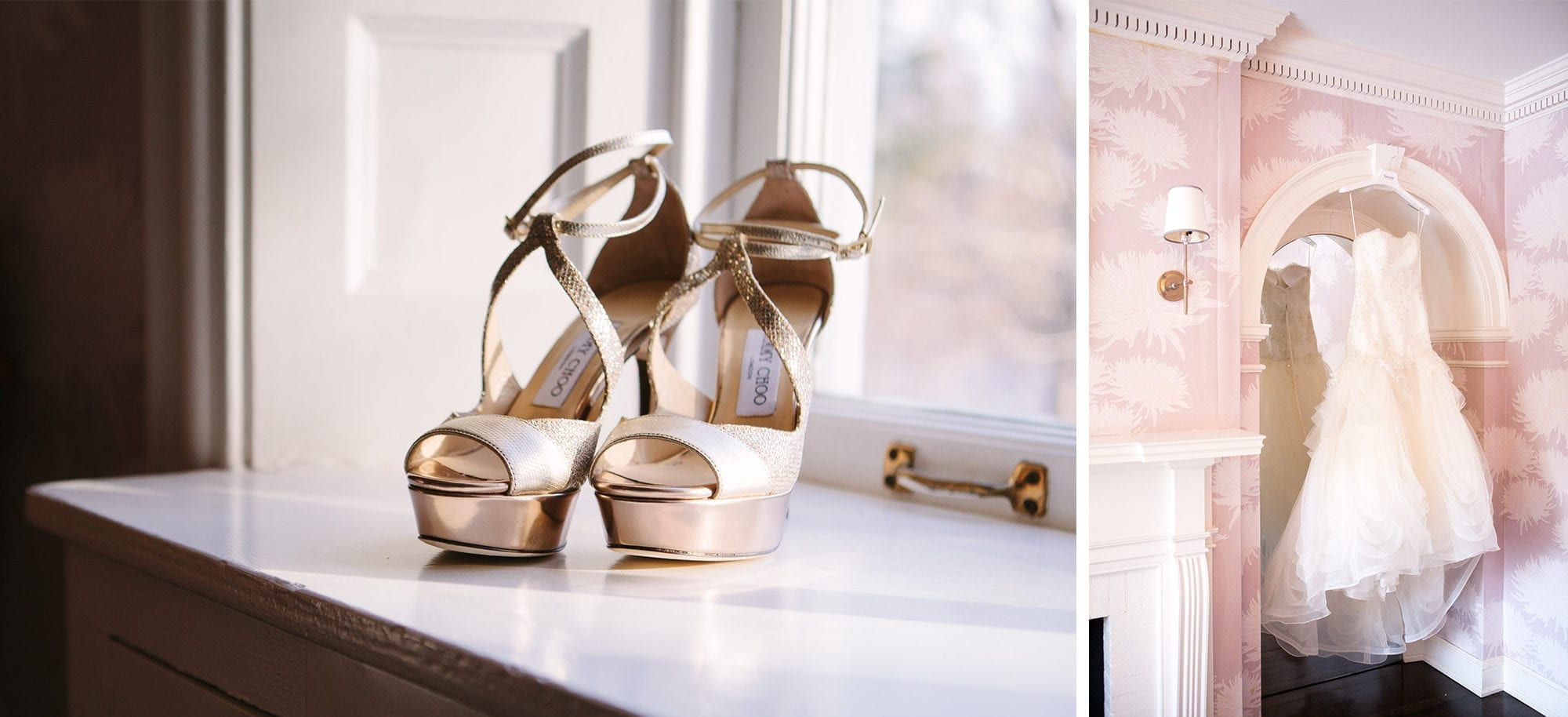 Jimmy Choo Kleinfeld Wedding Dress Zsuzsi Pal Photography Wedding Estates of Sunnybrook