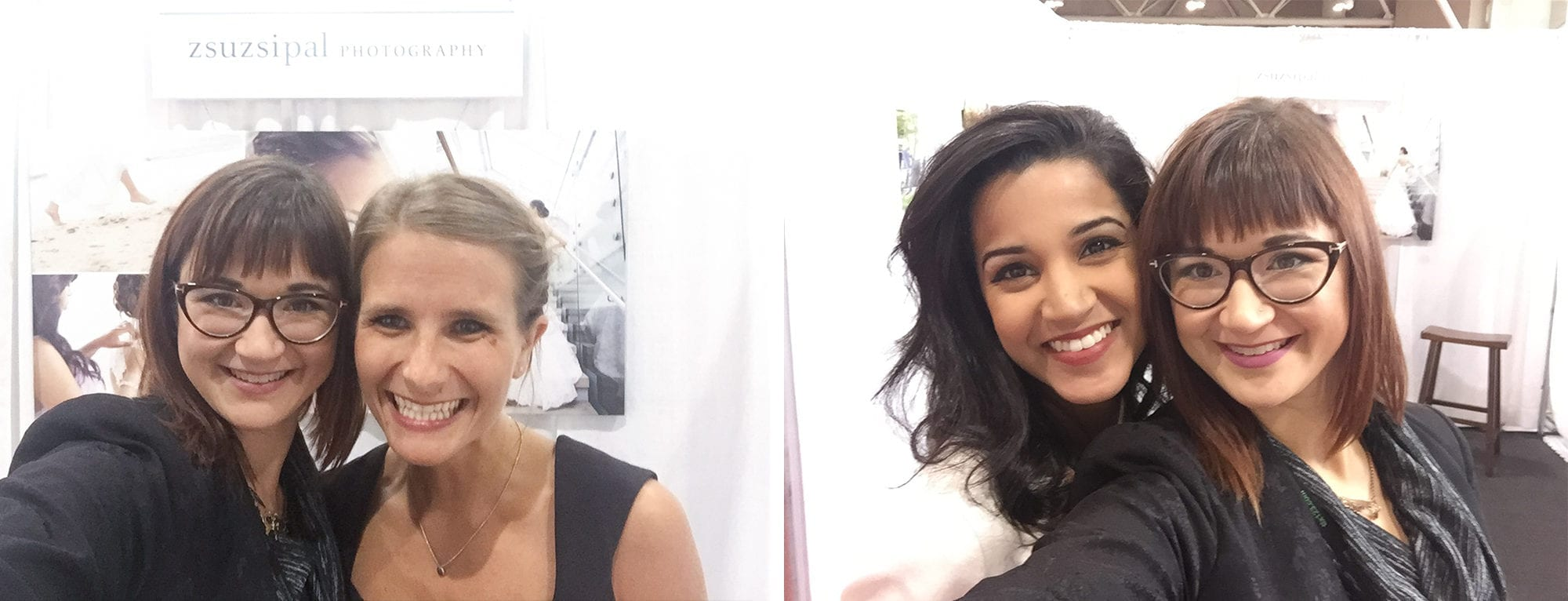 Friends Canada's Bridal Show Booth Zsuzsi Pal Photography