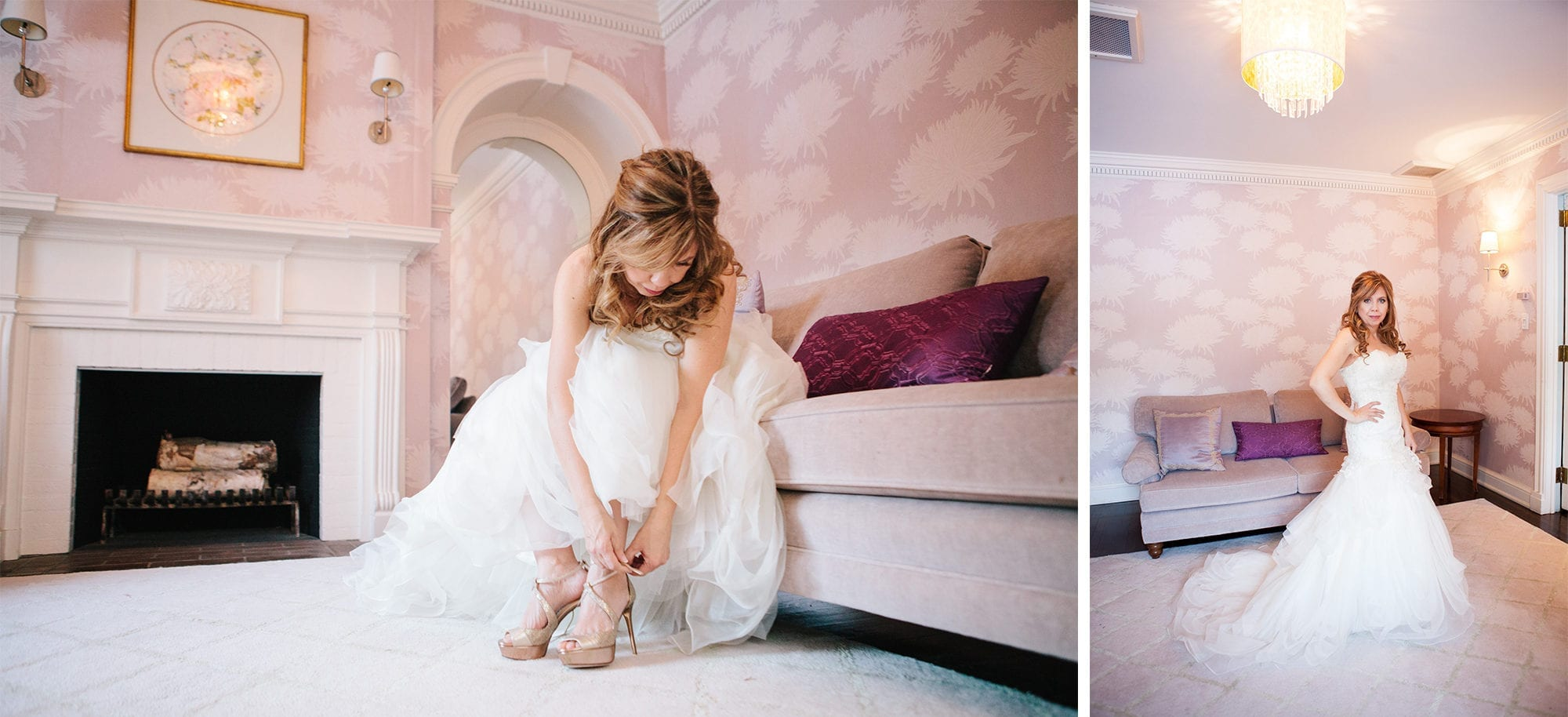 Bride Prep Zsuzsi Pal Photography Wedding Estates of Sunnybrook