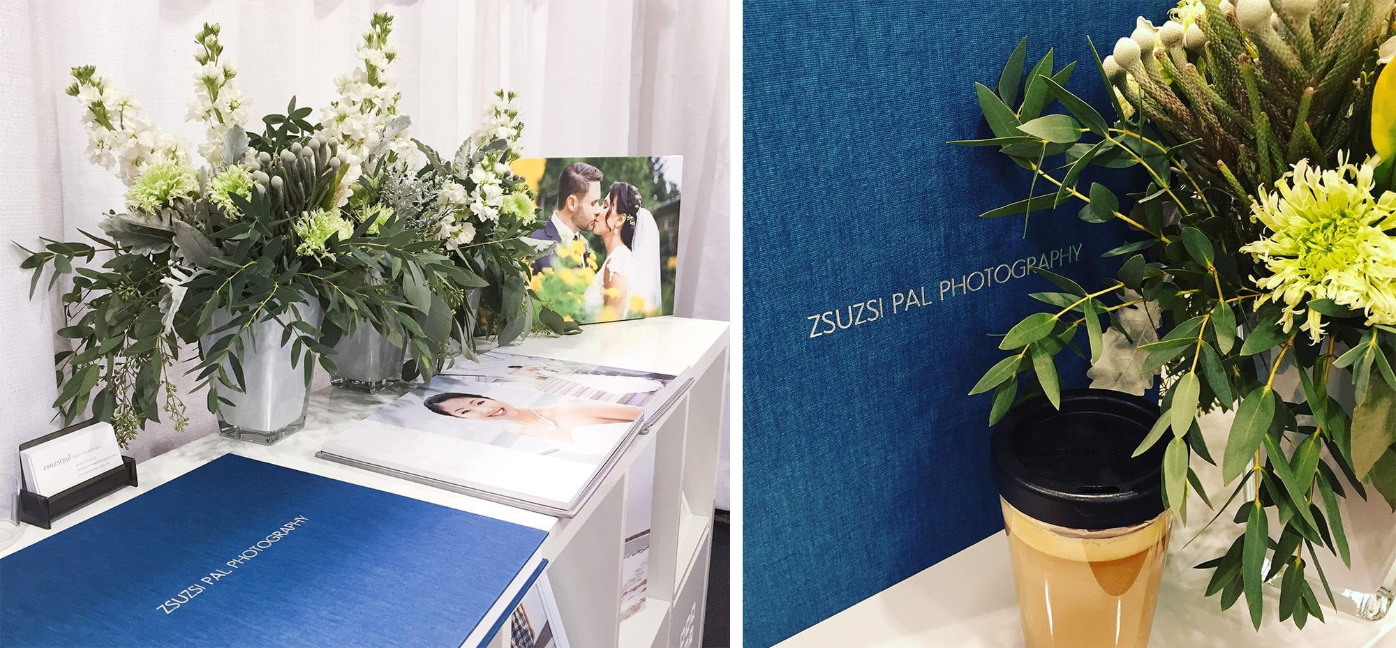 Canada's Bridal Show Booth Zsuzsi Pal Photography