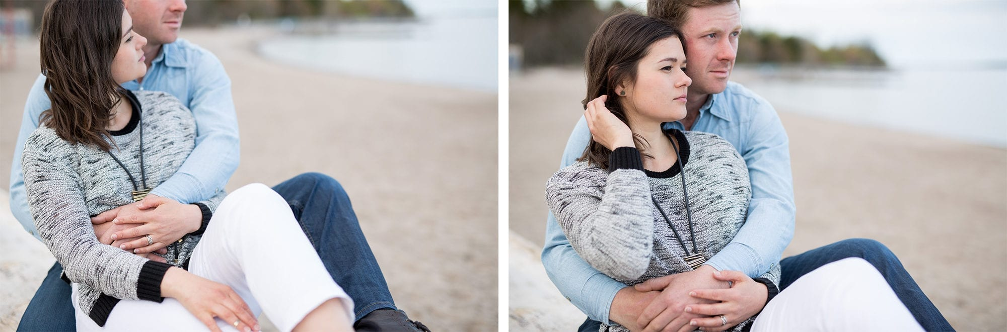 Cuddle Couple Toronto Island Engagement Zsuzsi Pal Photography