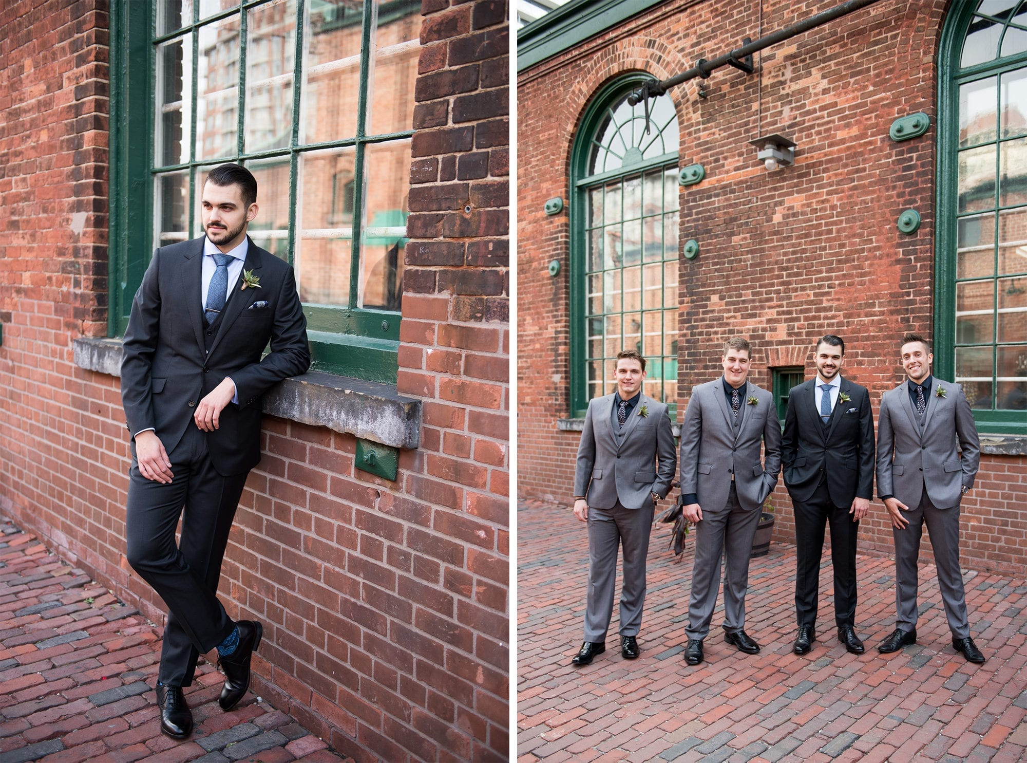Groomsmen Groom Toronto Wedding Zsuzsi Pal Photography
