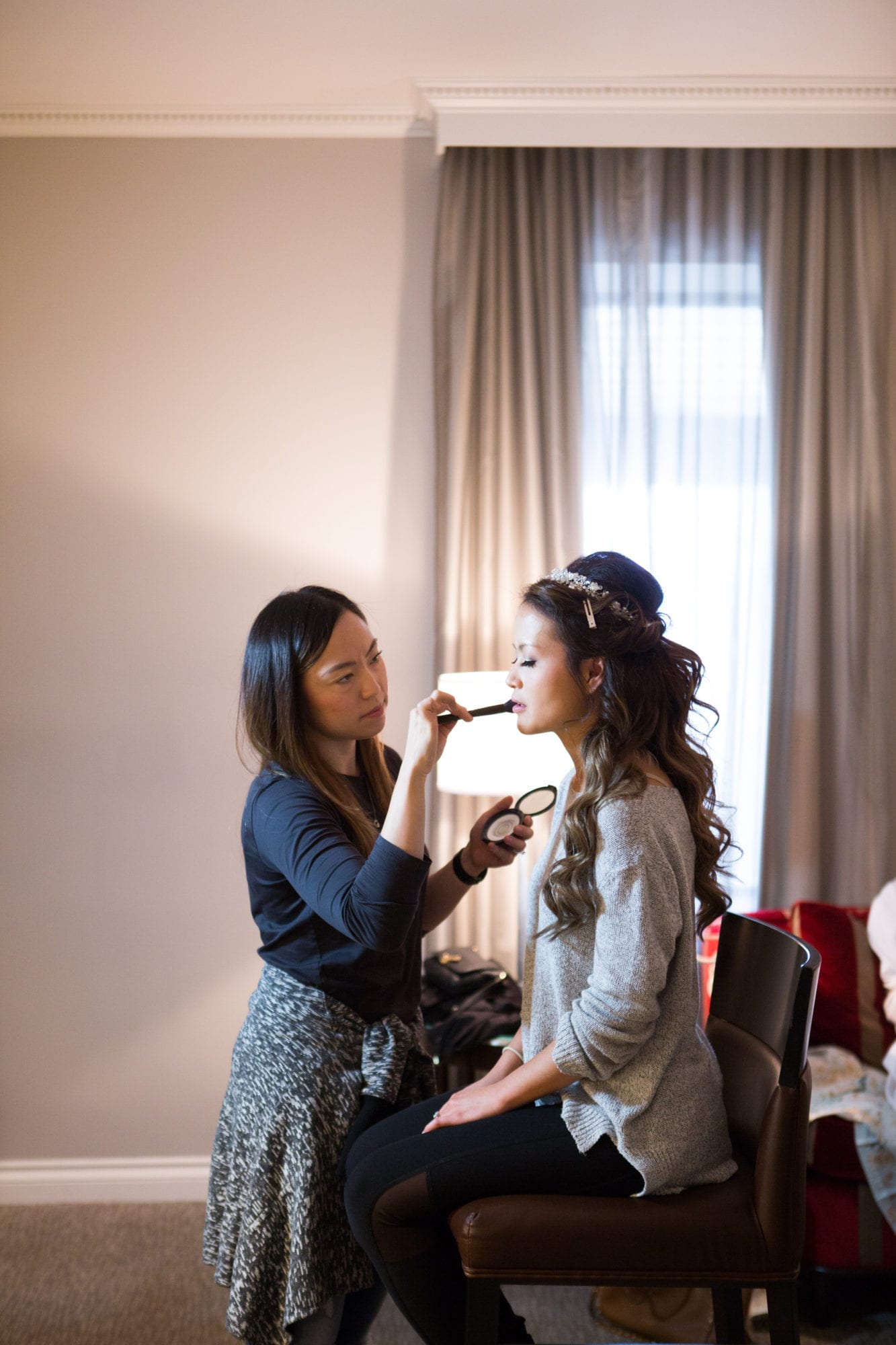 Bride Preparation Makeup Toronto Wedding Zsuzsi Pal Photography