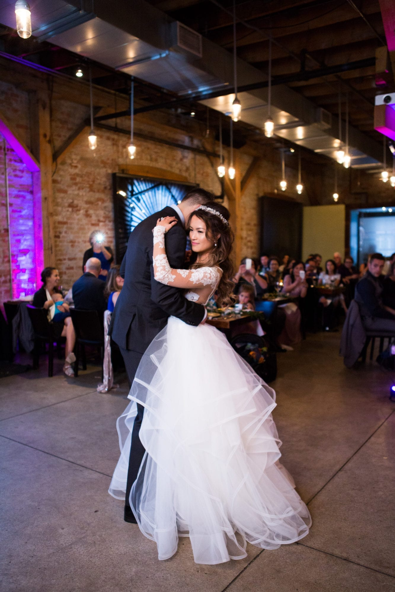 Reception First Dance Archeo Zsuzsi Pal Photography Toronto
