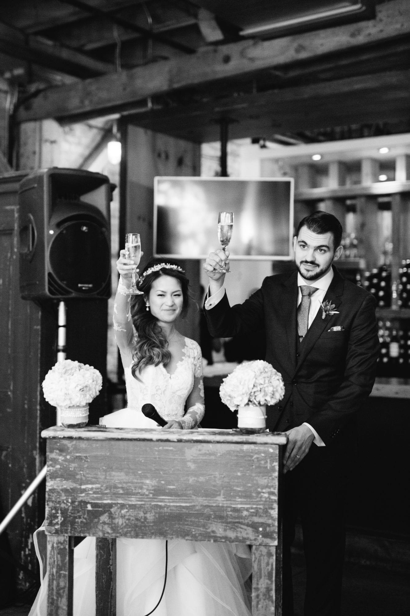 Bride Groom Speech Toast Toronto Wedding Zsuzsi Pal Photography