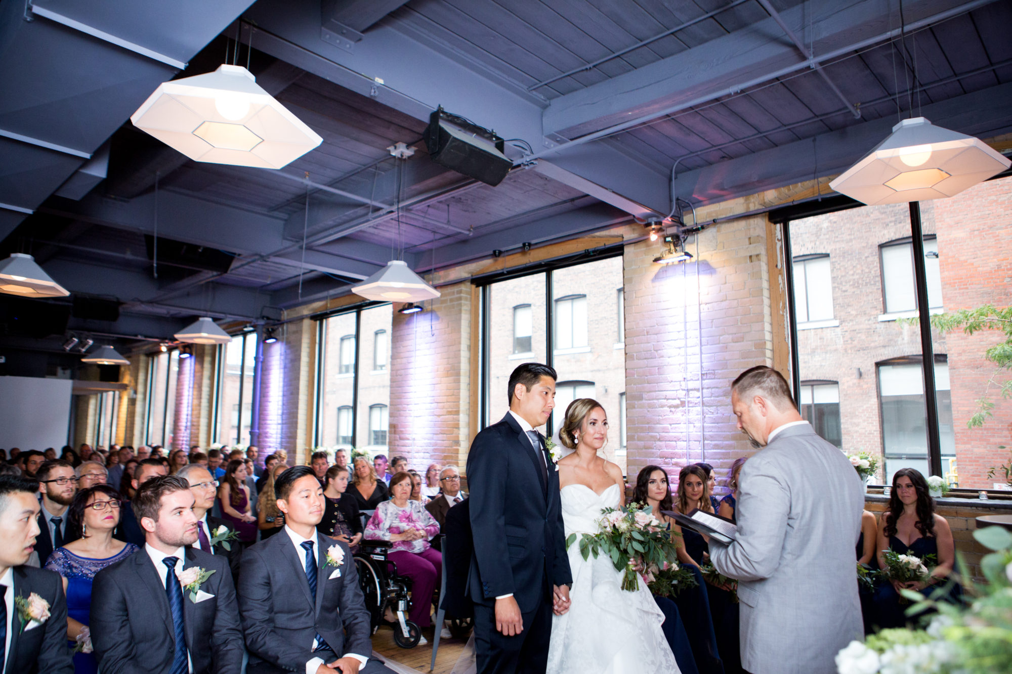 Ceremony Zsuzsi Pal Photography Toronto Wedding 2nd Second Floor Events