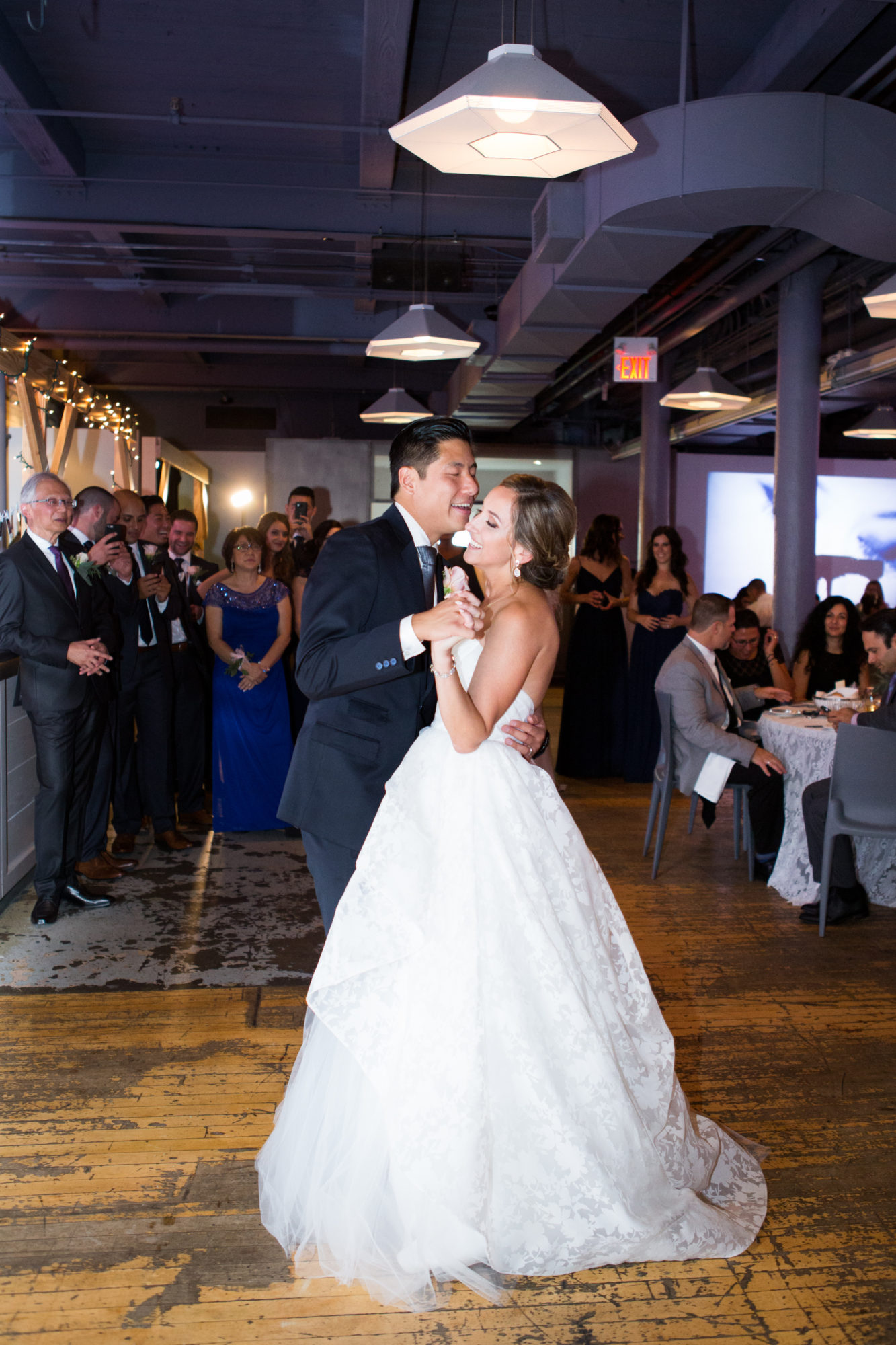 First Dance Bride Groom Zsuzsi Pal Photography Toronto Wedding 2nd Second Floor Events
