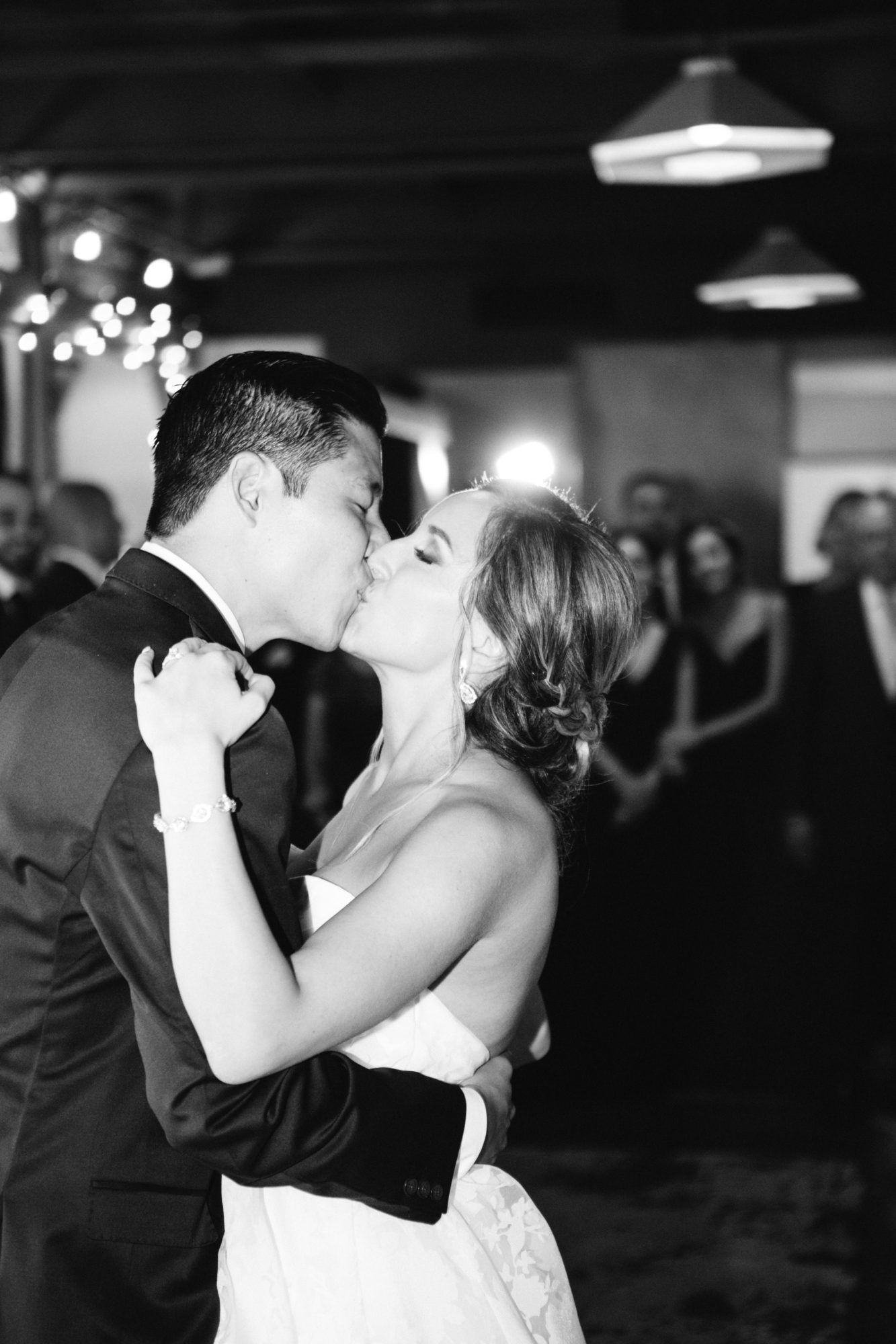 Bride Groom Black and White First Dance Zsuzsi Pal Photography Toronto Wedding 2nd Second Floor Events