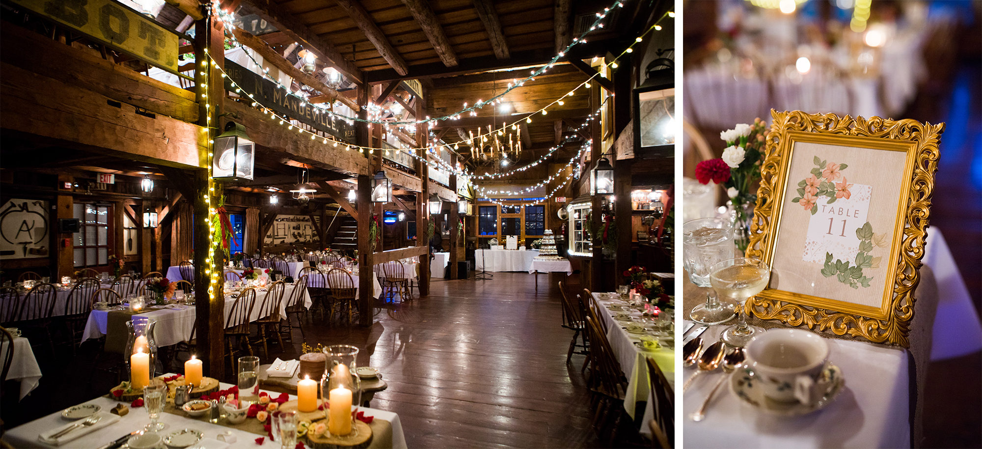 Rustic Barn Reception Decor Wedding Massachusetts Zsuzsi Pal Photography Destination