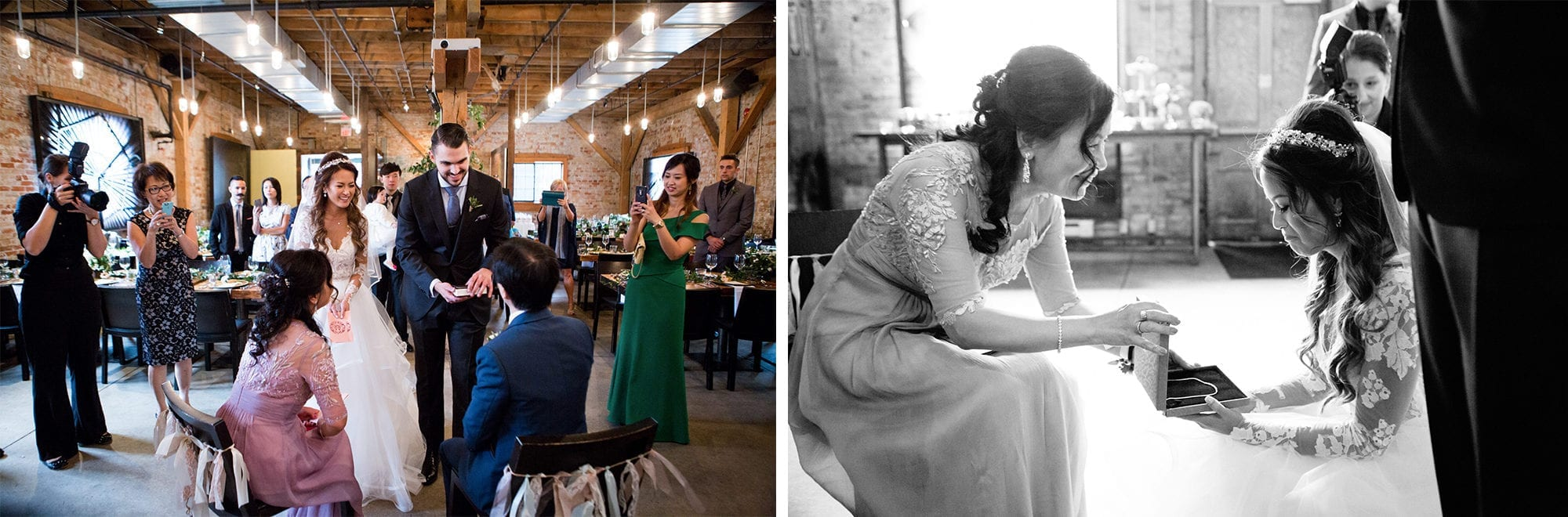 Archeo Bistro Chinese Tea Ceremony Toronto Wedding Zsuzsi Pal Photography