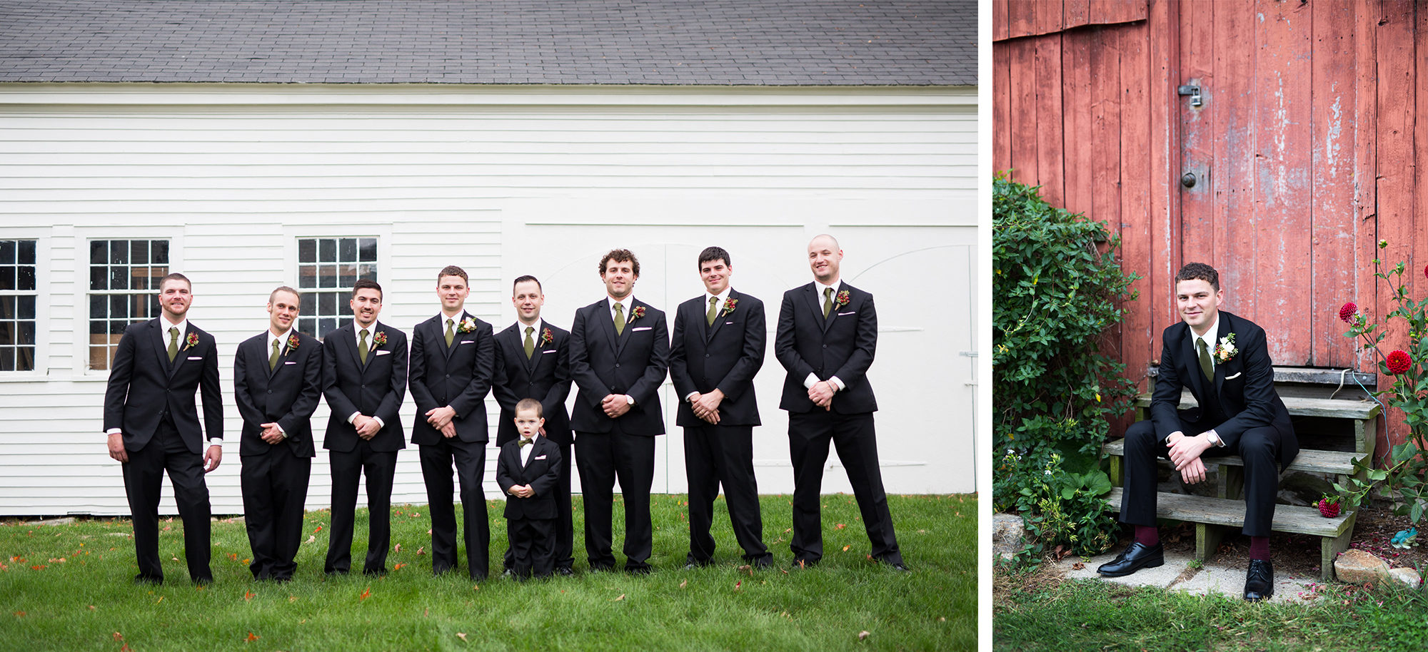 Groomsmen Groom Wedding Massachusetts Zsuzsi Pal Photography Destination