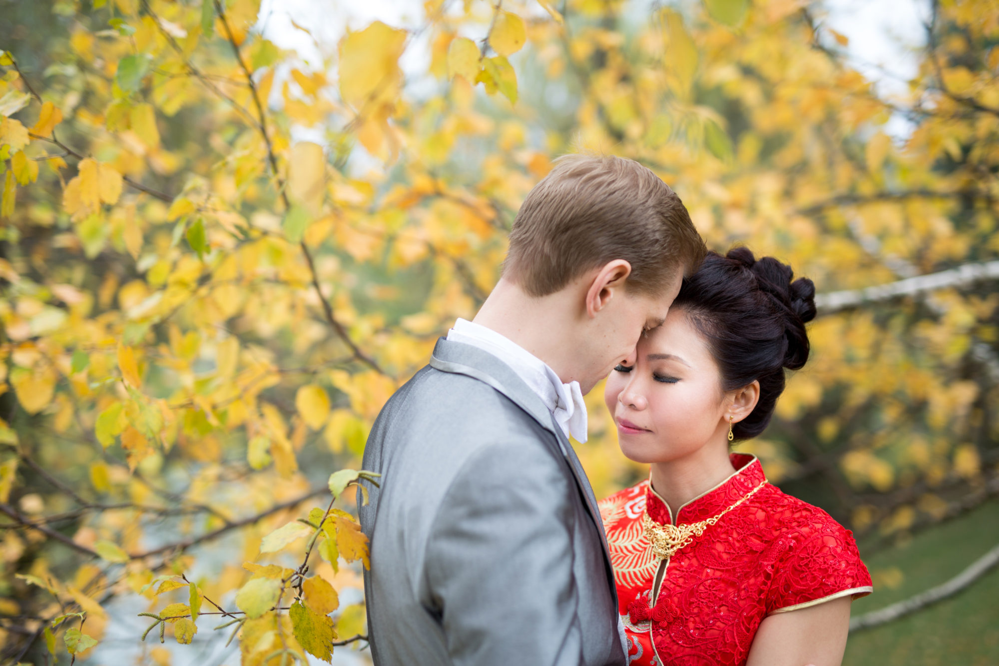 Fall Chinese Wedding Toronto Wedding Zsuzsi Pal Photography