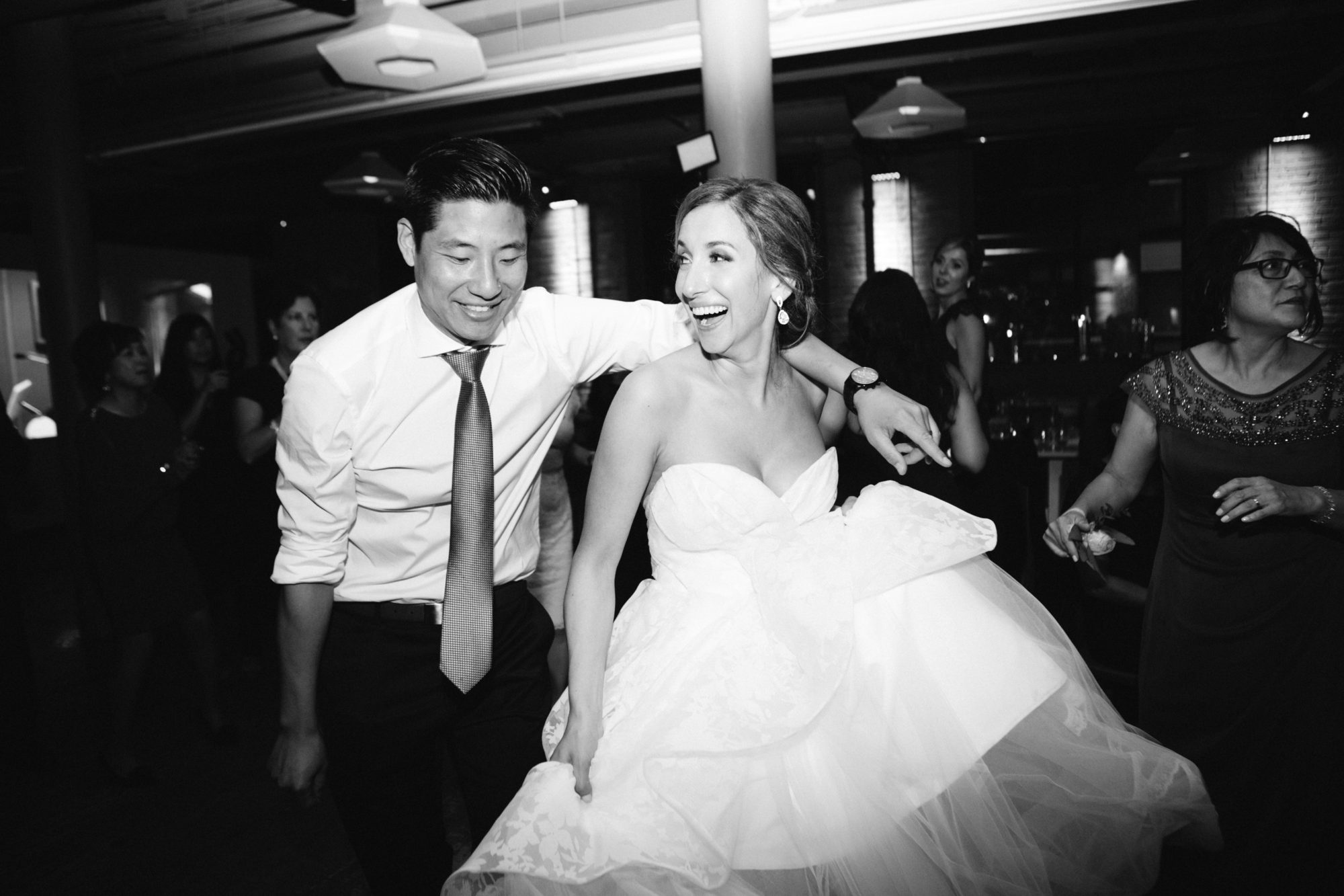 Bride Groom Dance Party Toronto Wedding Zsuzsi Pal Photography