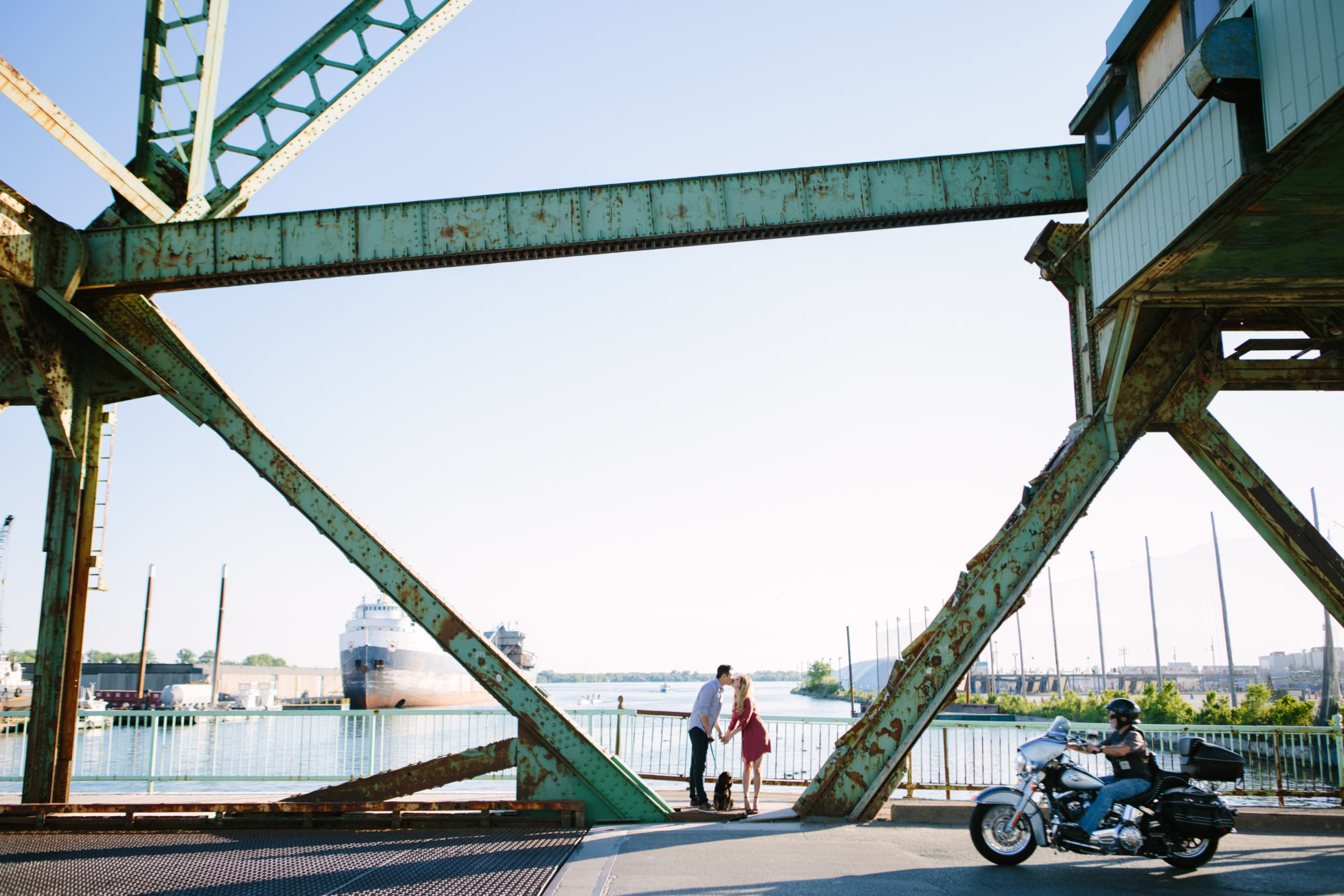 Industrial Bridge Toronto Wedding Zsuzsi Pal Photography