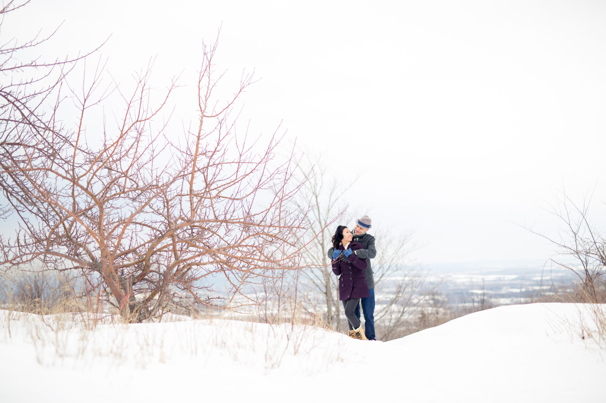 Winter Engagement Toronto Wedding Zsuzsi Pal Photography