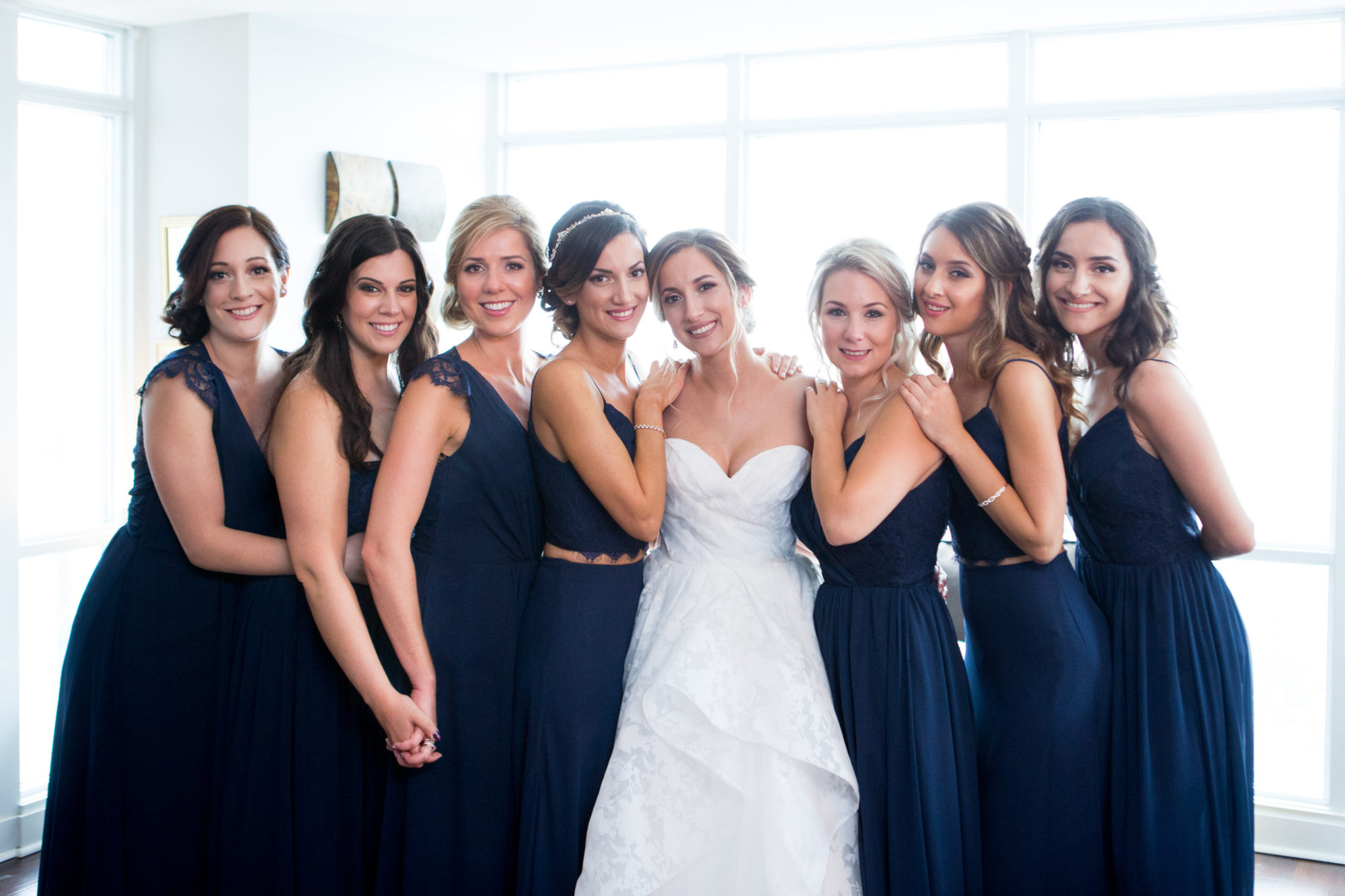 Bridesmaids Toronto Wedding Zsuzsi Pal Photography